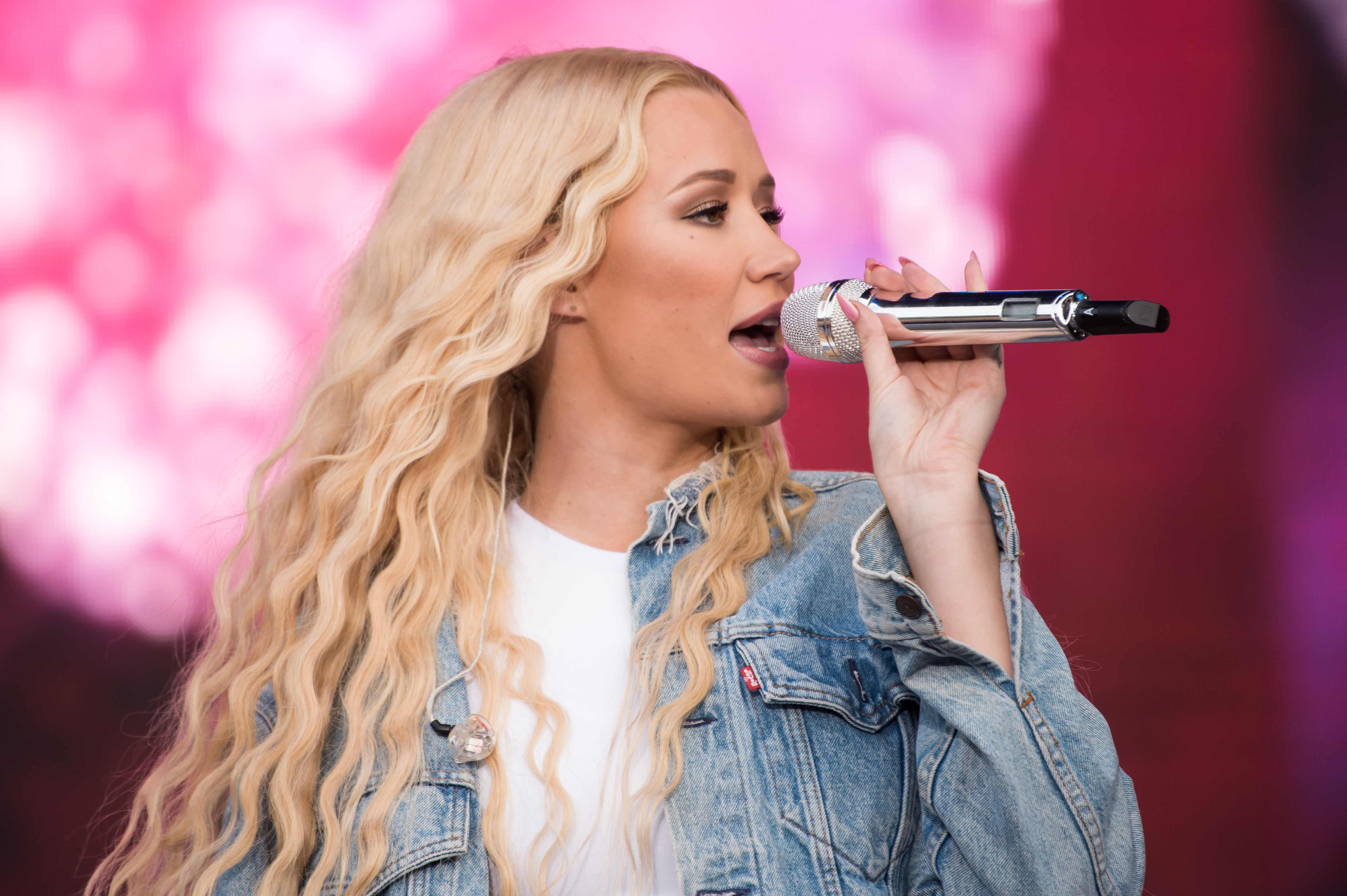 Iggy Azalea performs on Day 4 of Sziget Festival 2017 on August 12, 2017 in Budapest, Hungary.  (