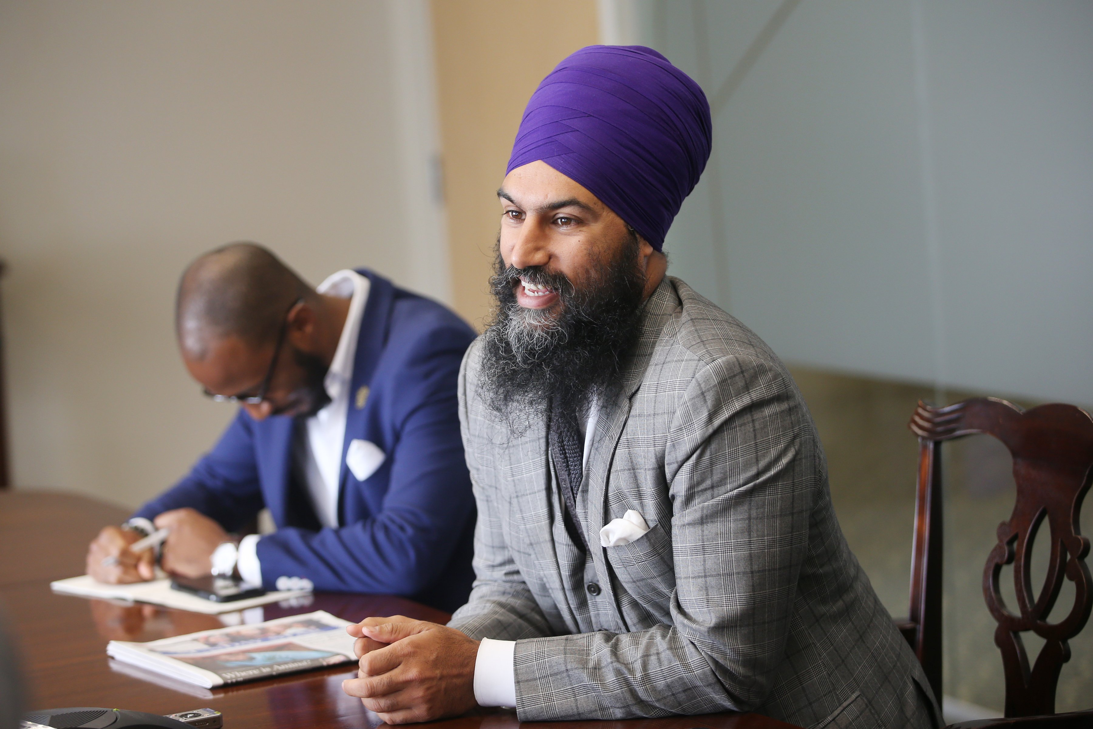 NDP leadership candidate Jagmeet Singh discusses his platform and campaign.