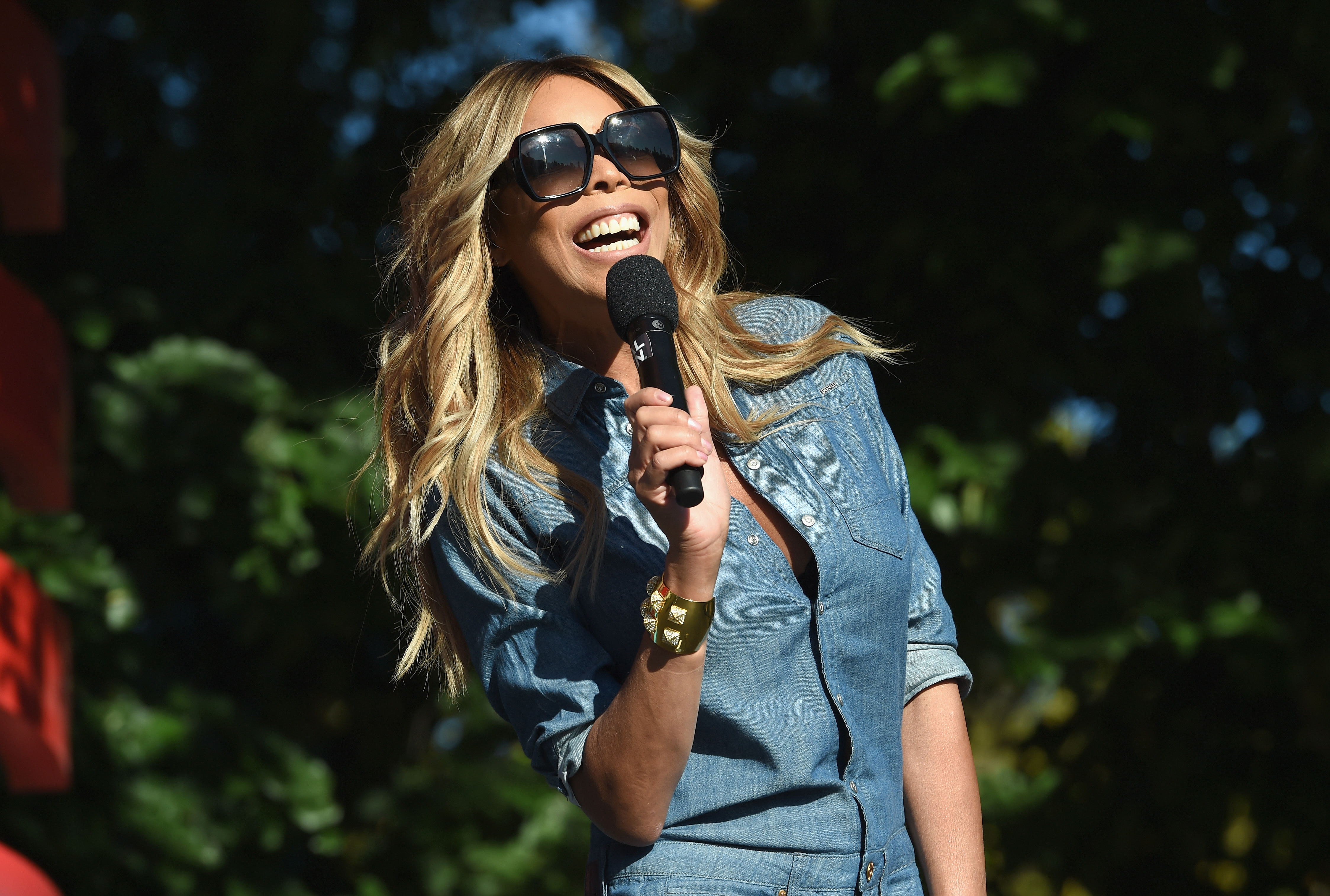 NEW YORK, NY - SEPTEMBER 23:  Wendy Williams speaks onstage during Global Citizen Festival 2017 at Central Park on September 23, 2017 in New York City.  (Photo by Michael Kovac/Getty Images)