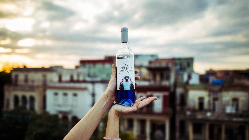 Gik Blue Wine Tasting Notes Review | Time