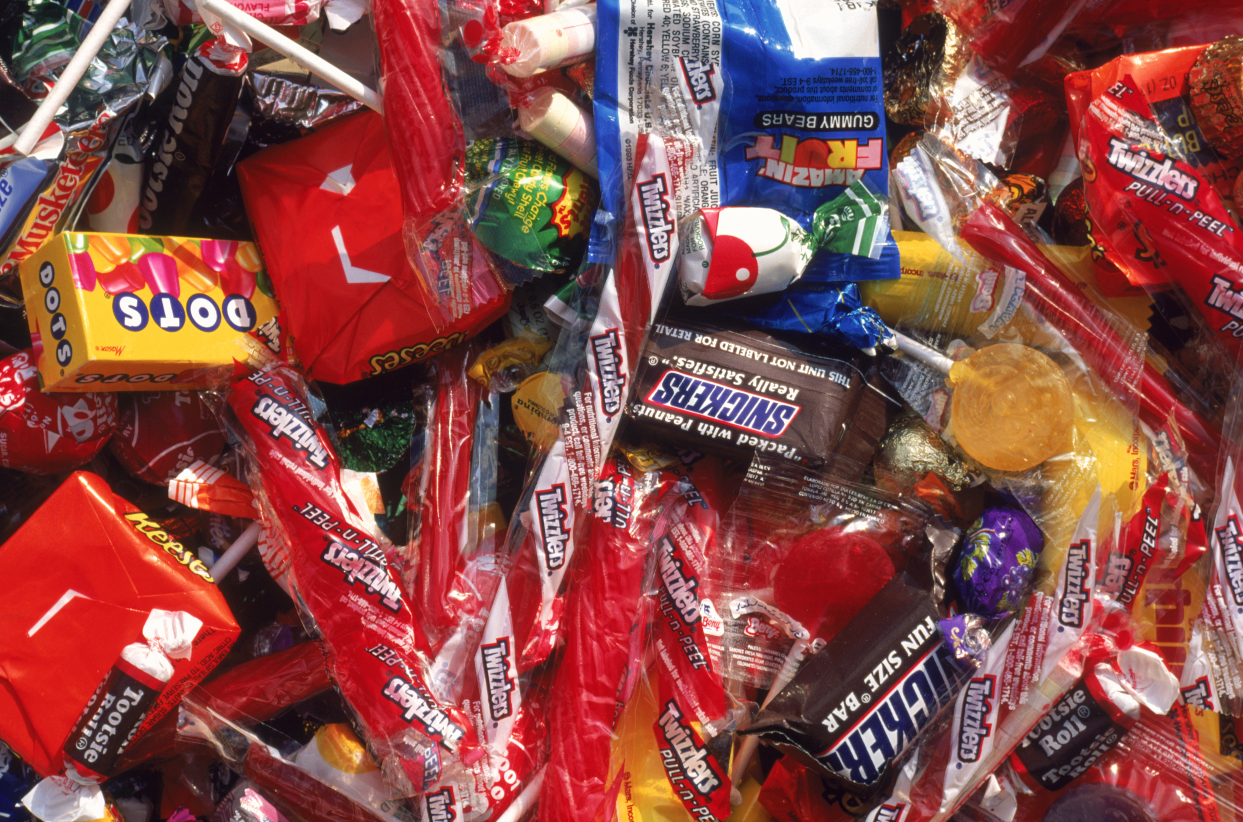 Shoppers are expected to spend $2.7 billion on Halloween candy this year.