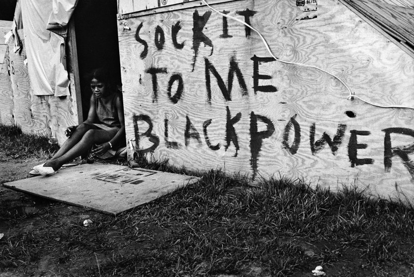 Ressurection City, Poor Peoples Campaign, 1968 by Jill Freedman.