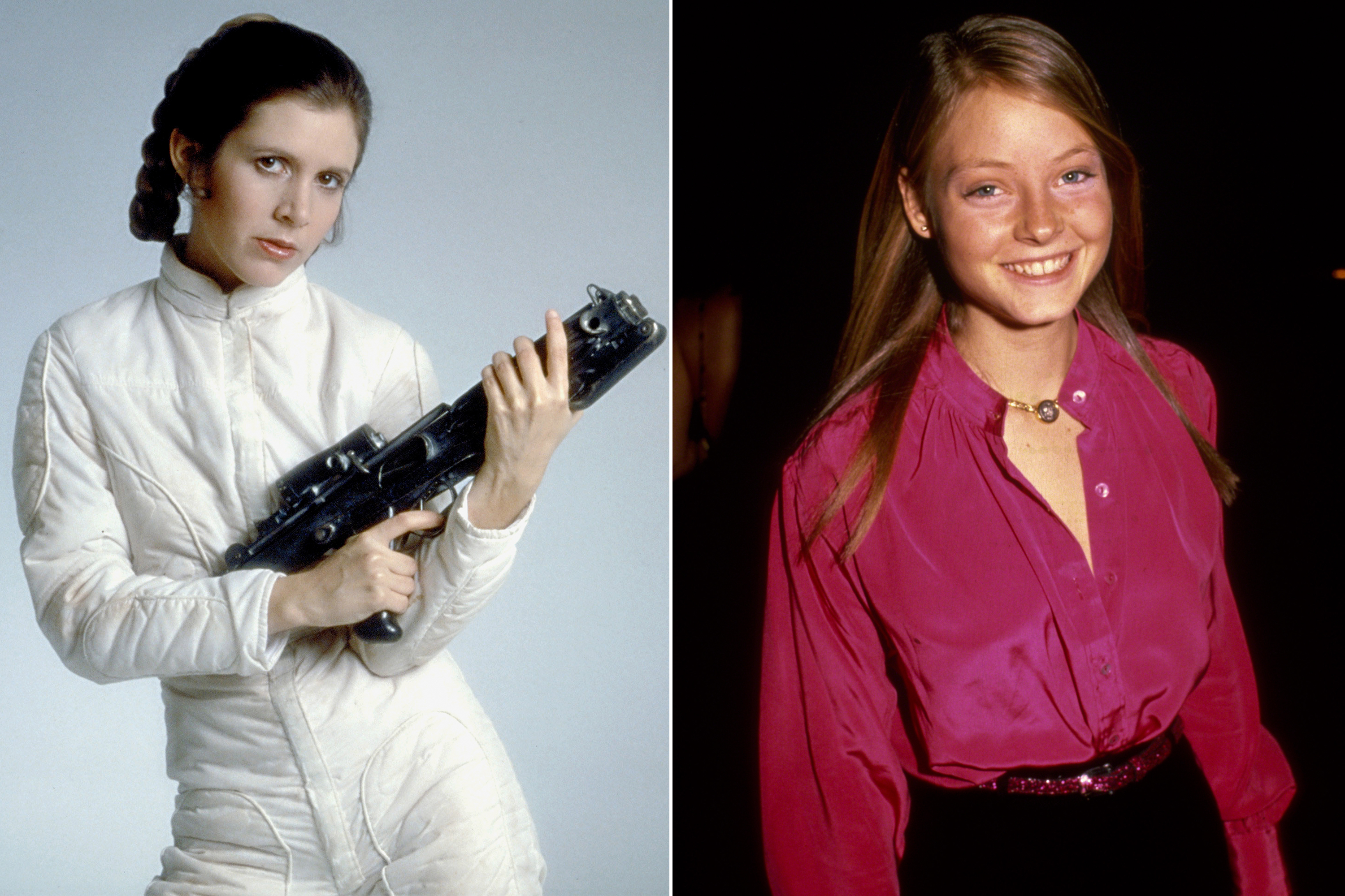 Jodie Foster was almost cast as Princess Leia in Star Wars