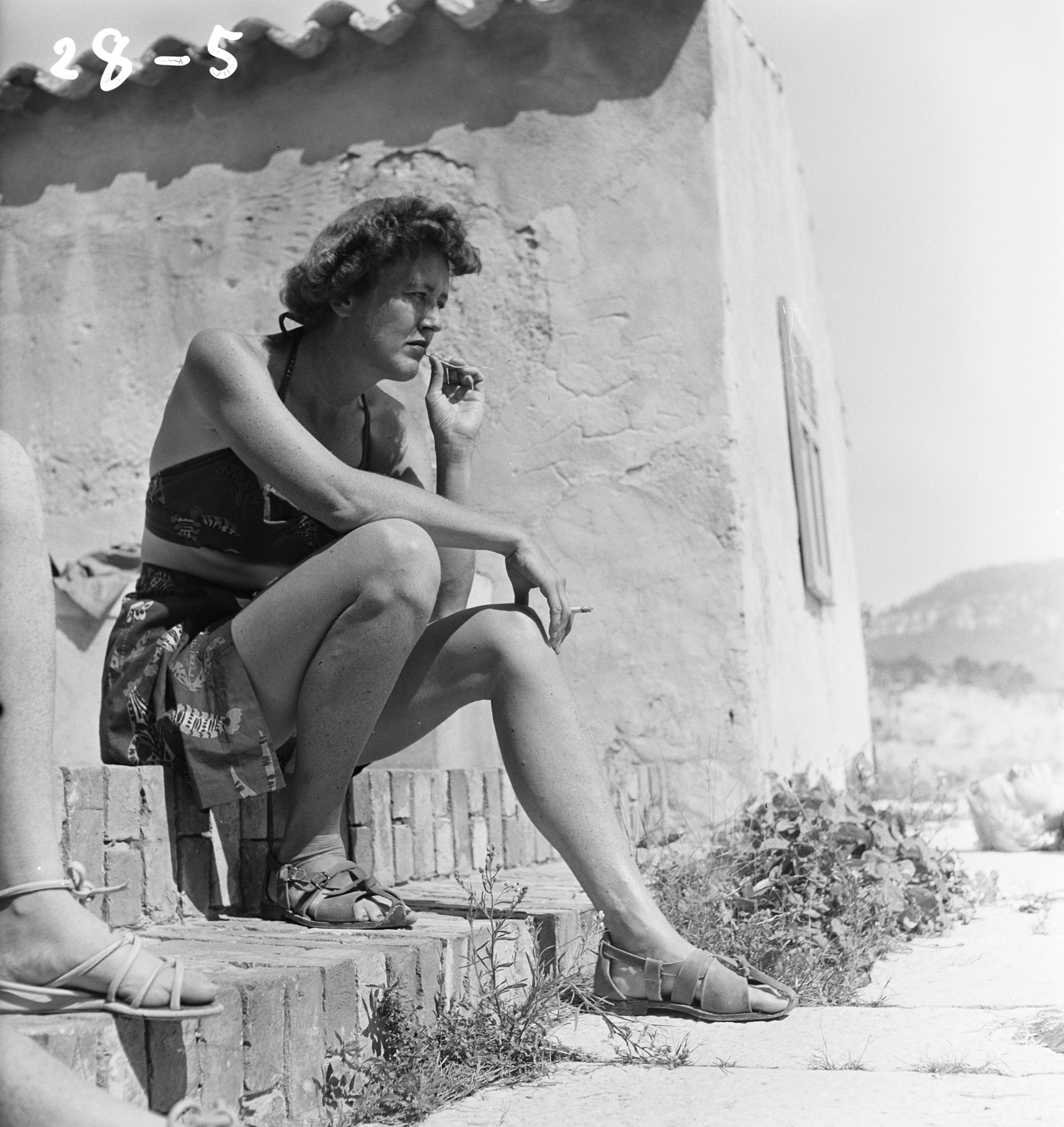 Julia Child, Cassis, 1950.