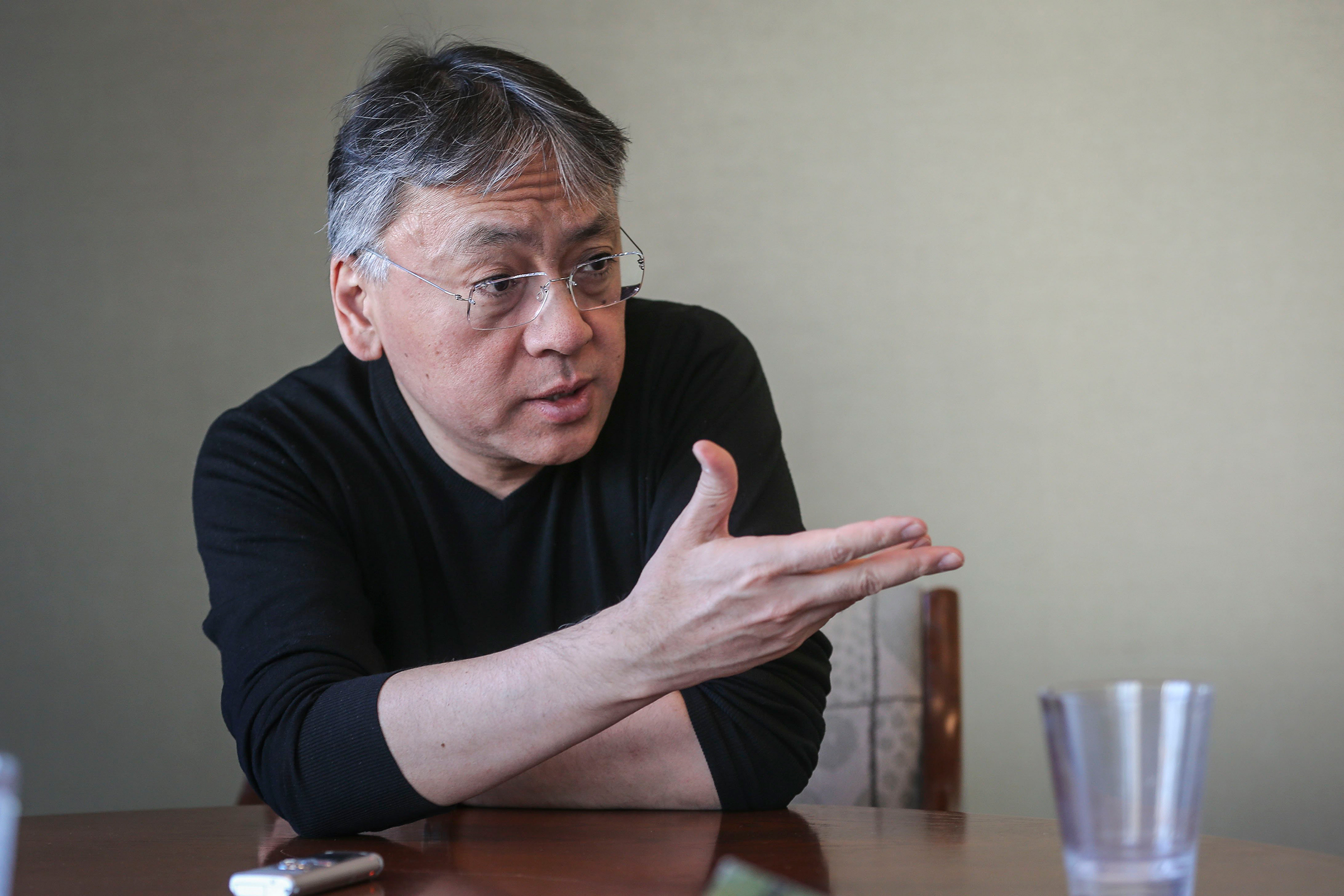 Author Kazuo Ishiguro, seen here on March 17, 2015 in Toronto, won the 2017 Nobel Prize in Literature.