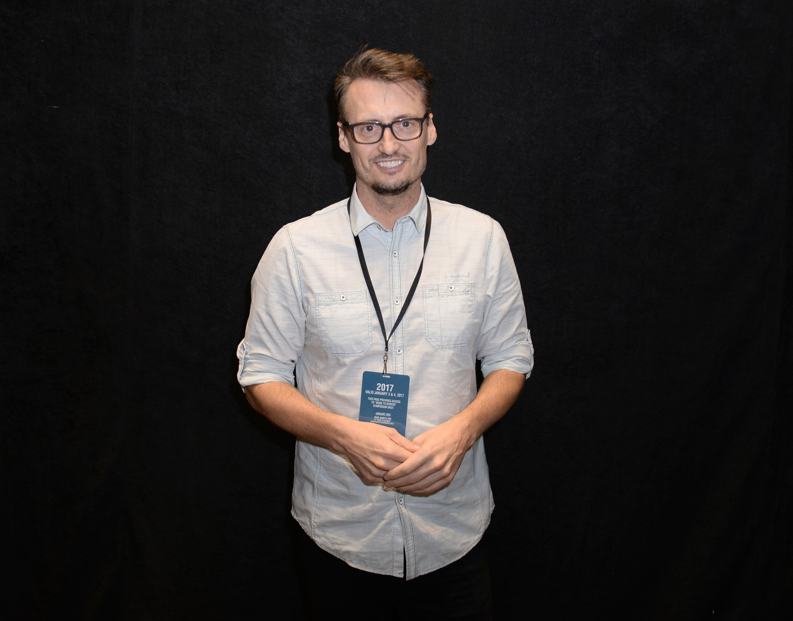 Author Ken Baker attends  Books to Screen  during the 28th Annual Palm Springs International Film Festival in Palm Springs, Calif., on Jan. 4, 2017.