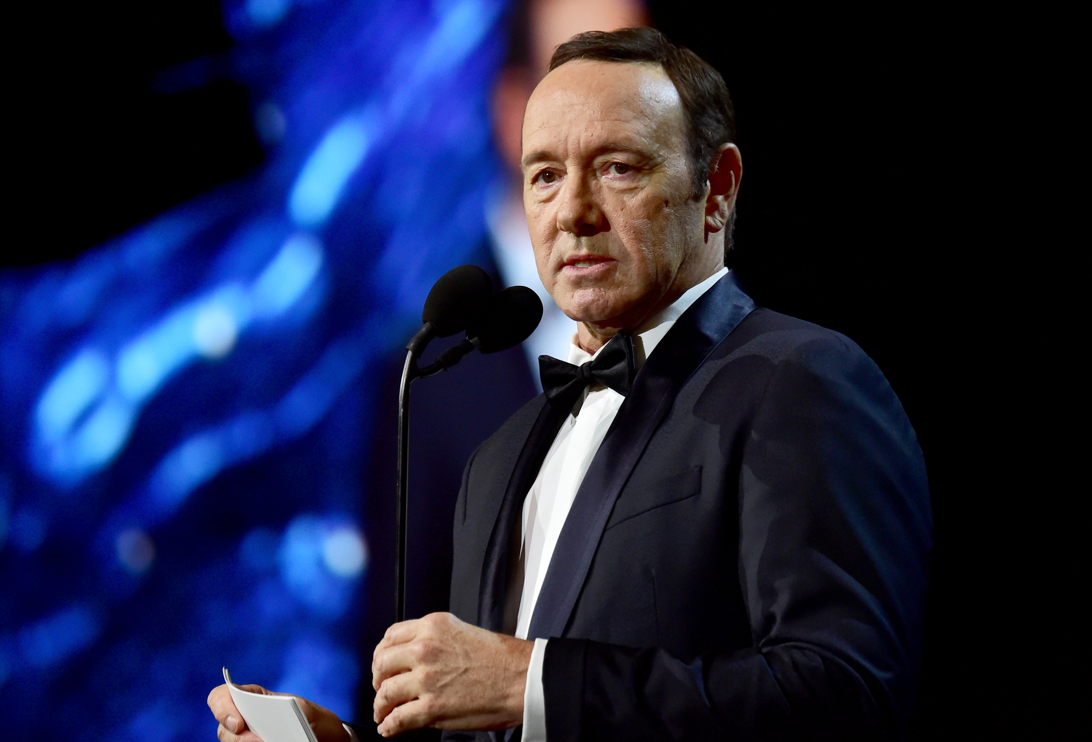 Kevin Spacey at the 2017 AMD British Academy Britannia Awards  in Beverly Hills, Calif. on October 27, 2017.