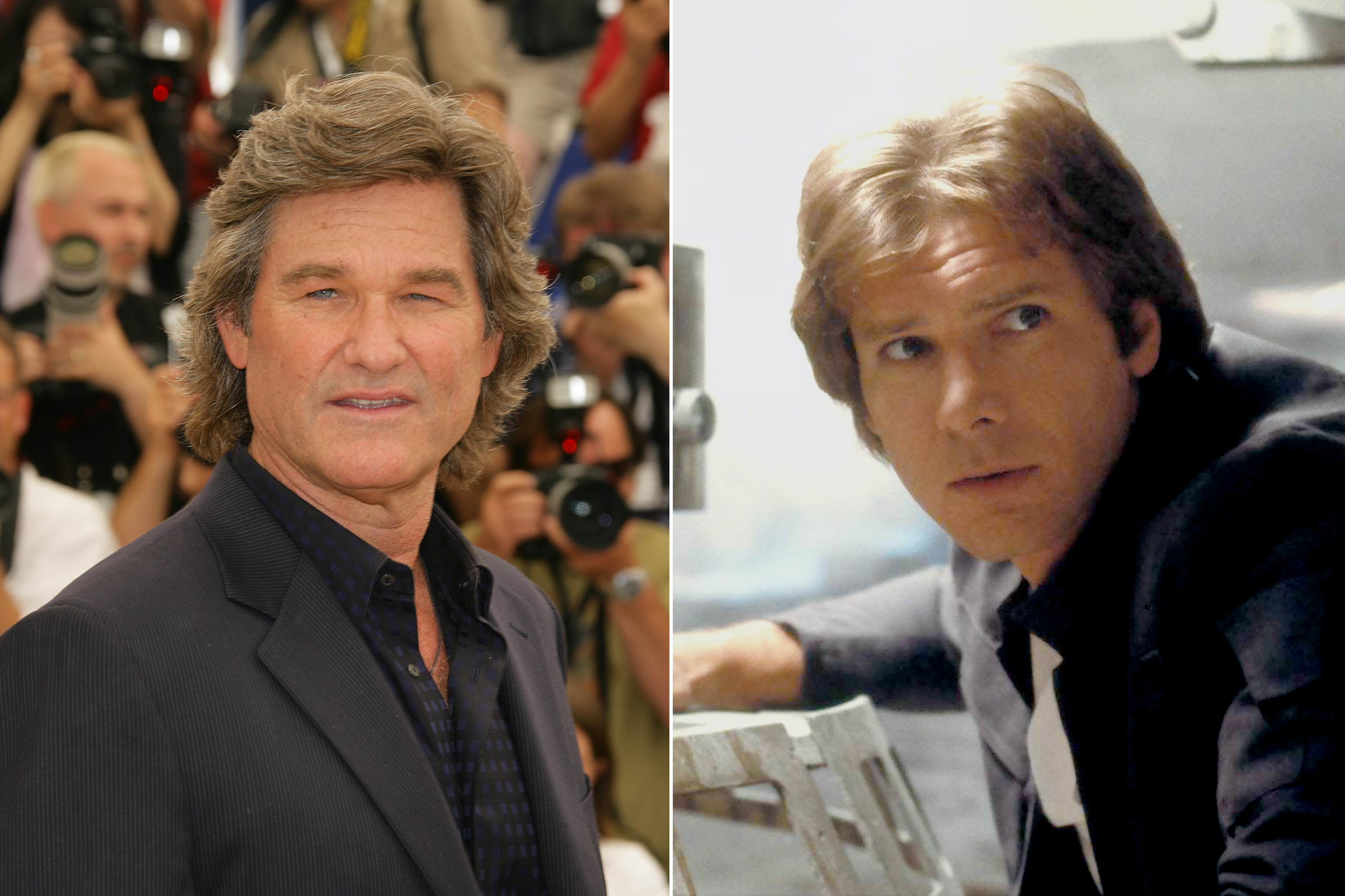 Kurt Russell was almost cast as Han Solo in Star Wars