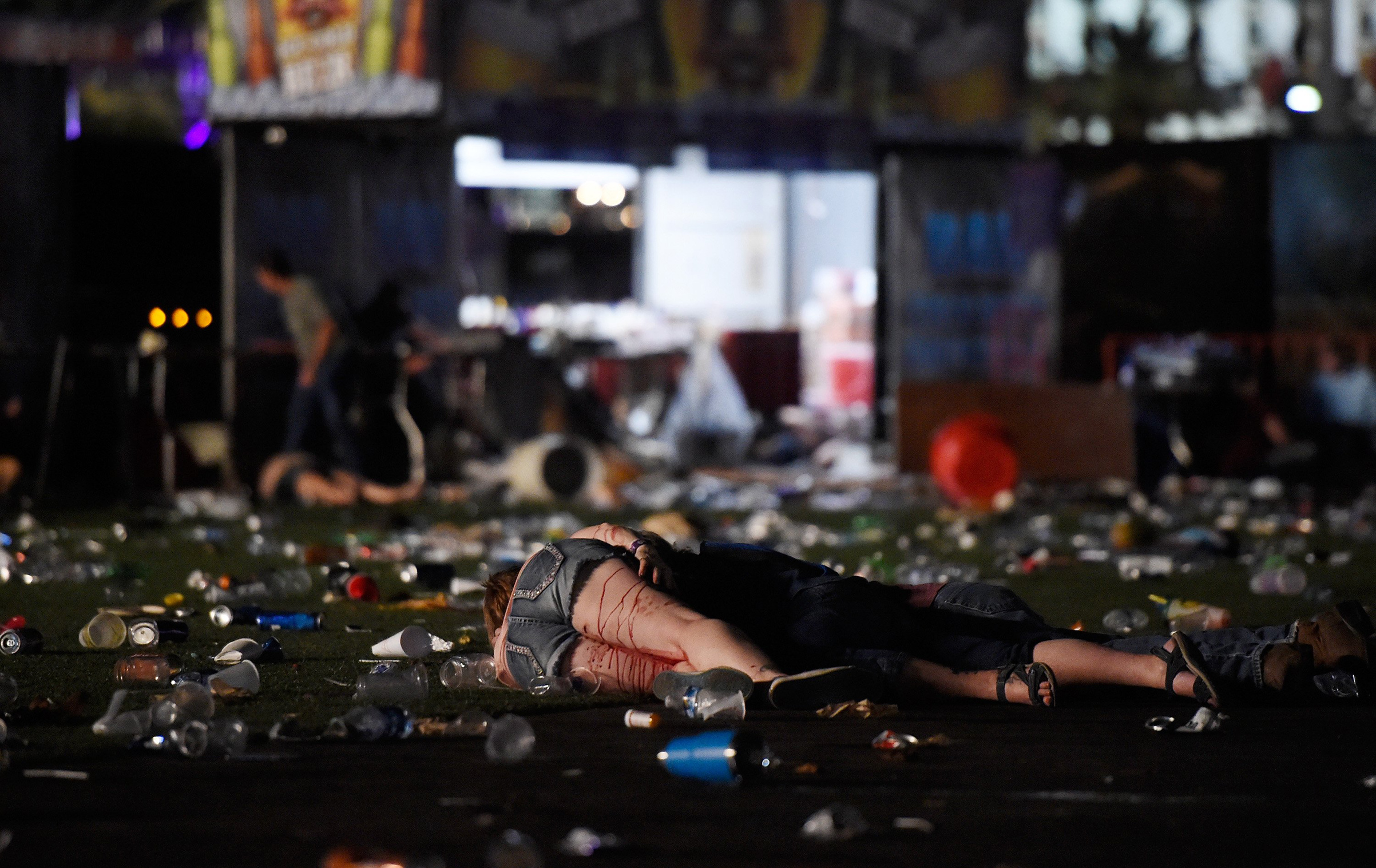 Victims of a shooting at the Route 91 Harvest country music festival in Las Vegas on Oct. 1, 2017.