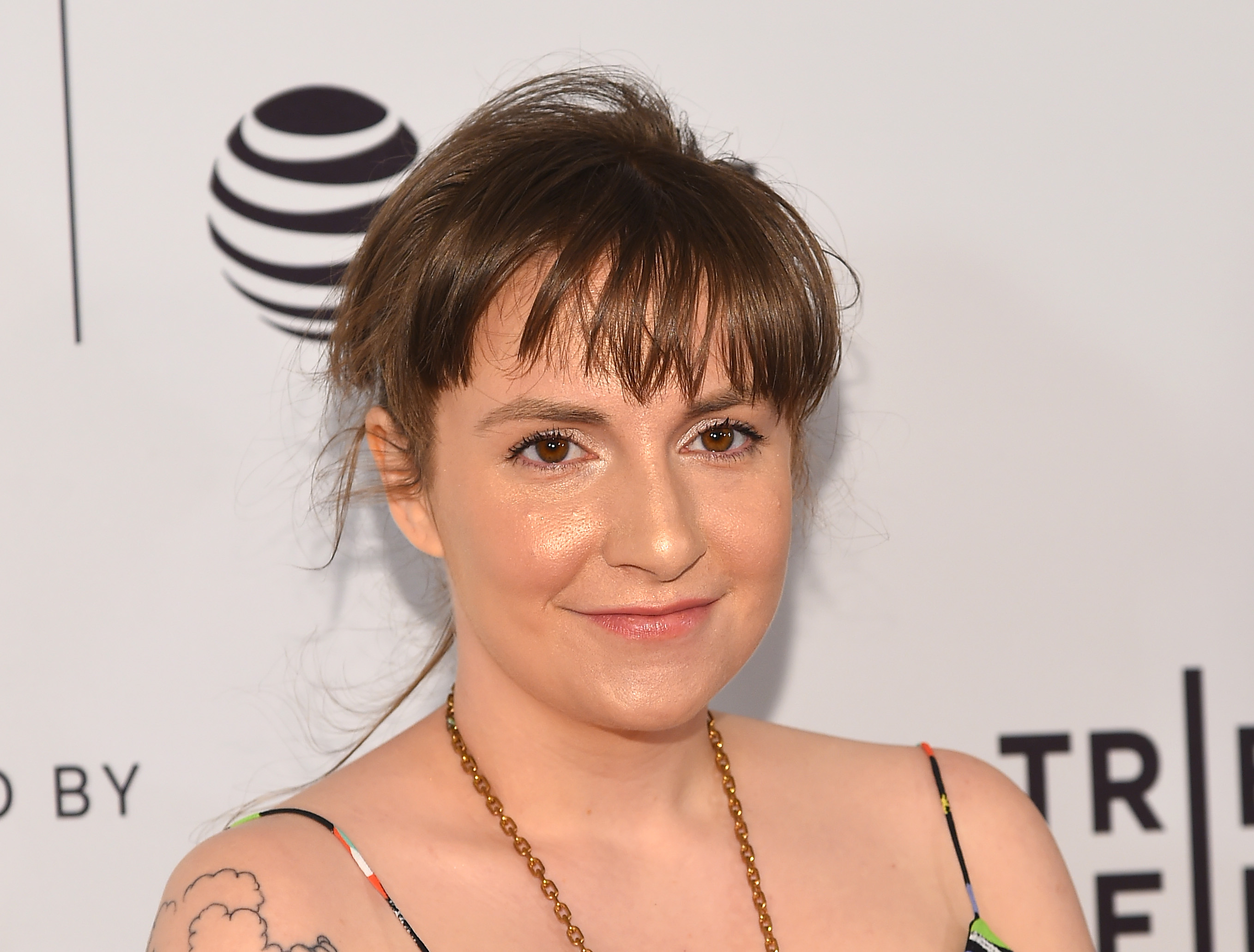 Lena Dunham attends  My Art  premiere during the 2017 Tribeca Film Festival at Cinepolis Chelsea in New York on April 22, 2017.