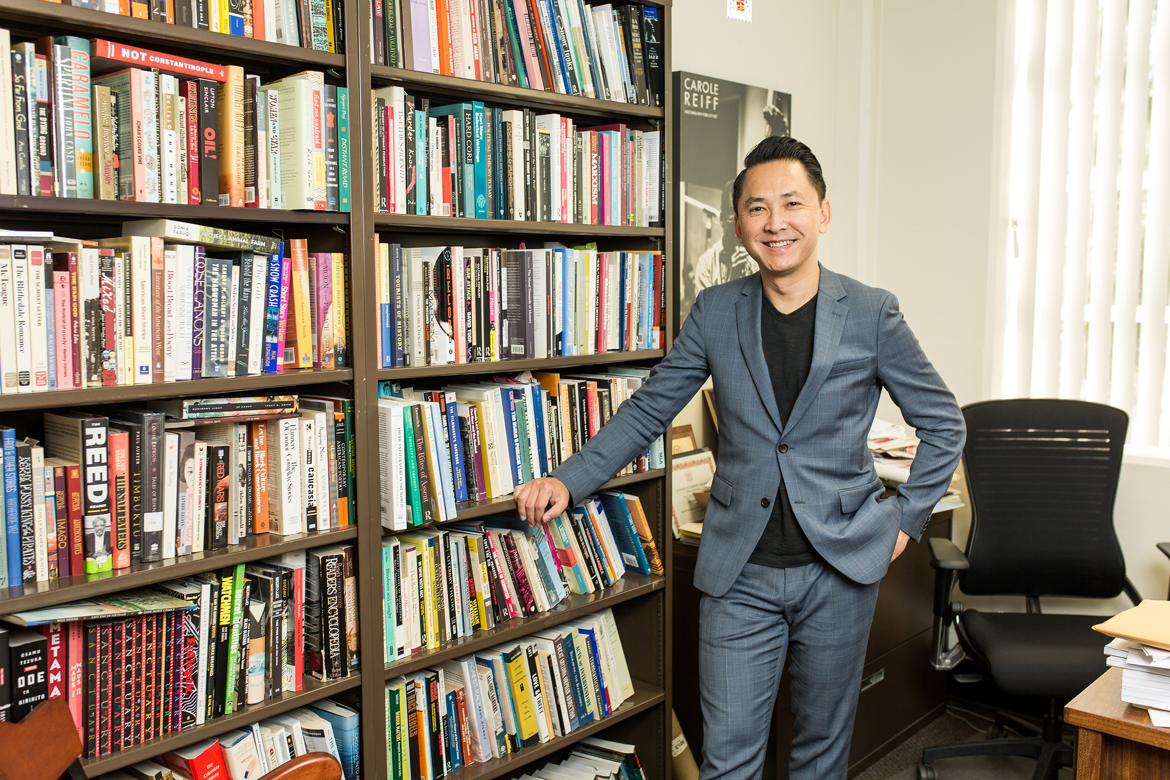 Viet Thanh Nguyen, 2017 MacArthur Fellow, University of [f500link]Southern[/f500link] California, Los Angeles, September 23, 2017.