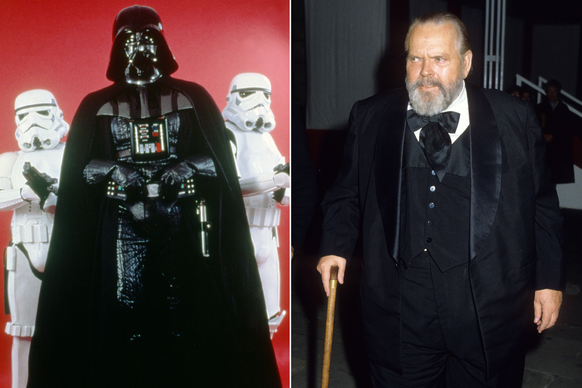 Orson Welles was almost cast as Darth Vader in Star Wars