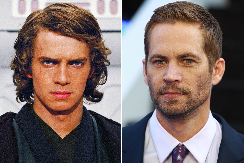 Paul Walker was almost cast as Anakin Skywalker in Star Wars