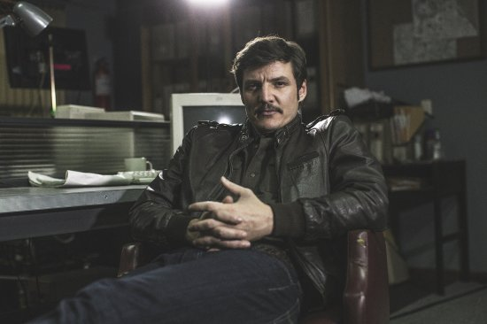 The Chilean-born American actor Pedro Pescal portrayed in Colombia during the production of the popular Netfl
