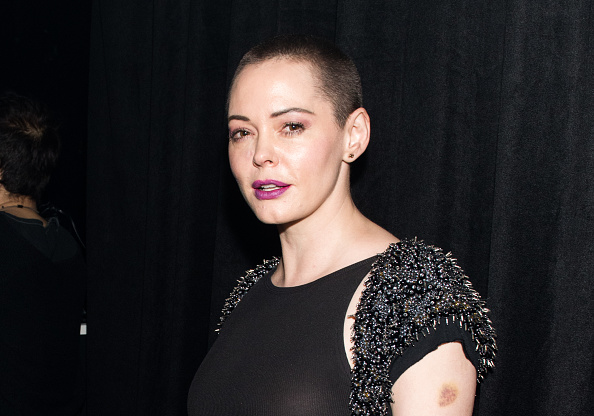 Actress Rose McGowan attends 'Charliewood - An Exhibition Of Transgressive Movement' on Nov. 28, 2016 in New York City.