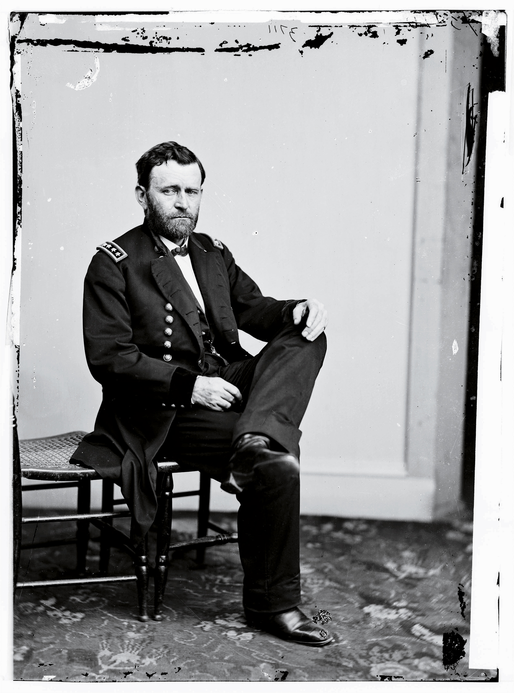 Ulysses S. Grant, circa 1865, before his rise to the White House.
