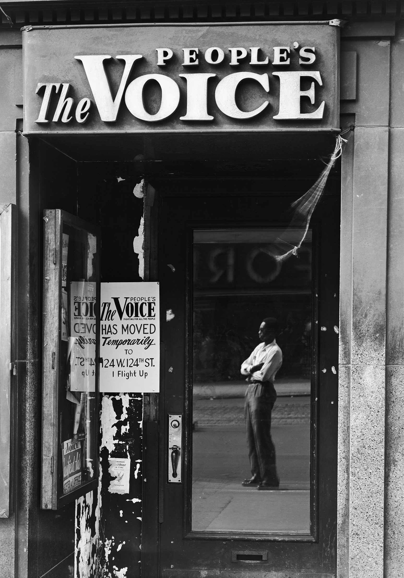 The People's Voice,  125th Street, 1946.