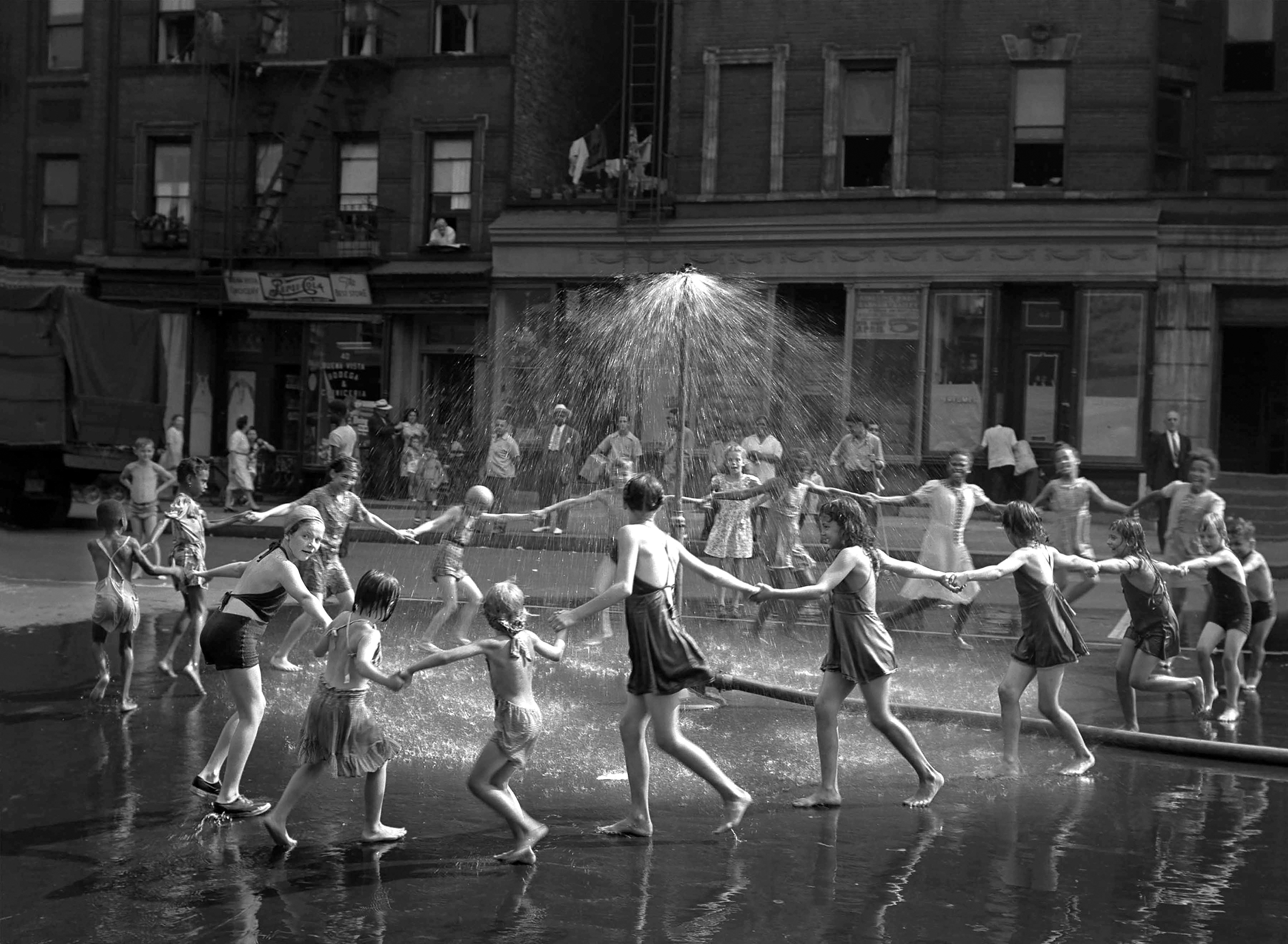 LaSalle at Amsterdam Avenue, 1946.