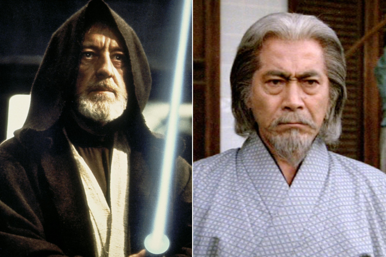 Toshiro Mifune was almost cast as Obi Wan Kenobi in Star Wars
