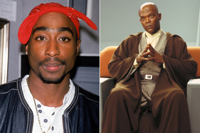 Tupac Shakur was almost cast as Mace Windu in Star Wars