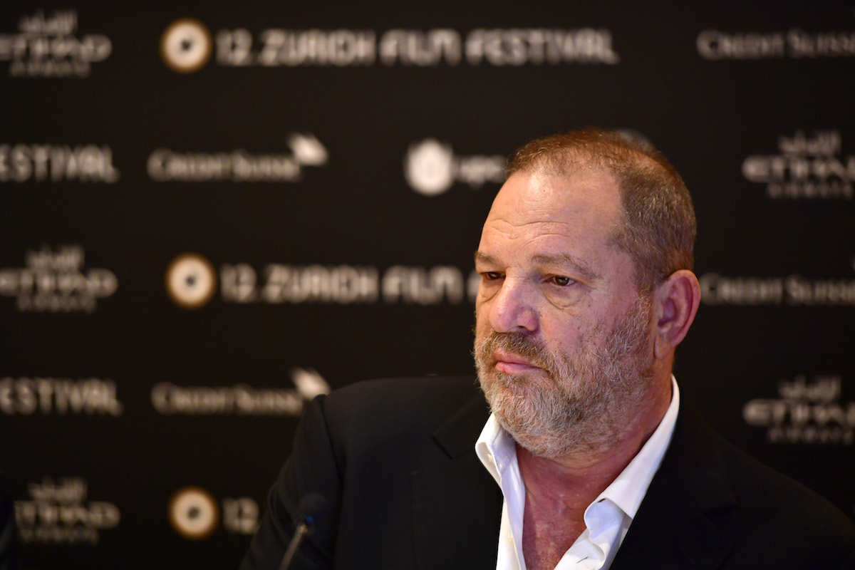 Harvey Weinstein speaks at the 'Lion' press junket during the 12th Zurich Film Festival on Sept. 22, 2016 in Zurich, Switzerland.