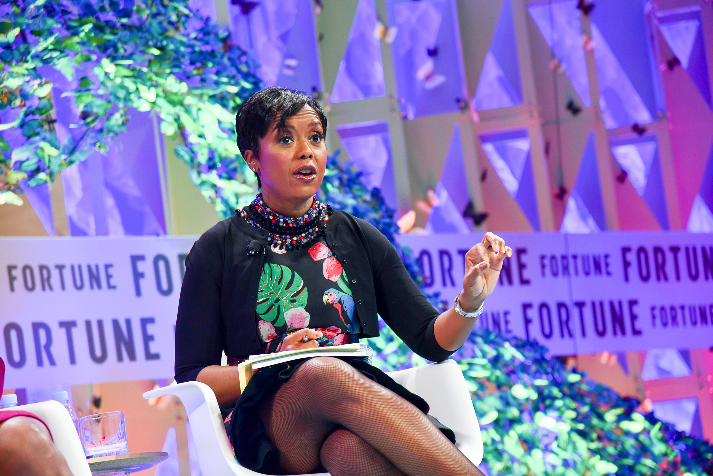 Ariel Investments president Mellody Hobson onstage at Fortune's Most Powerful Women Summit