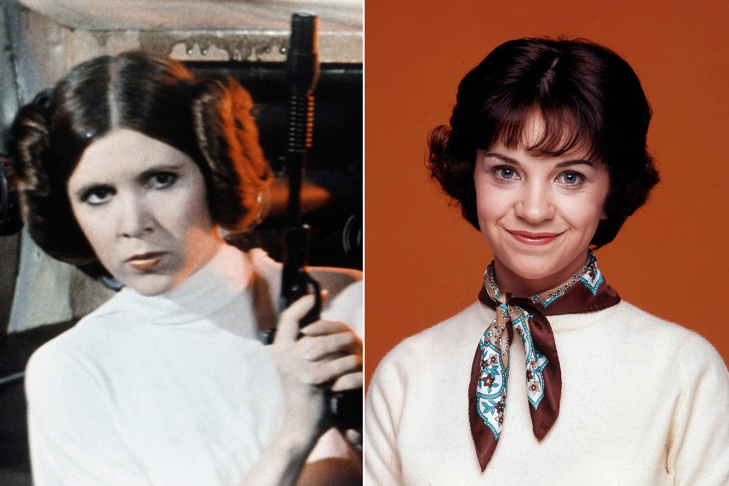 Cindy Williams was almost cast as Princess Leia in Star Wars