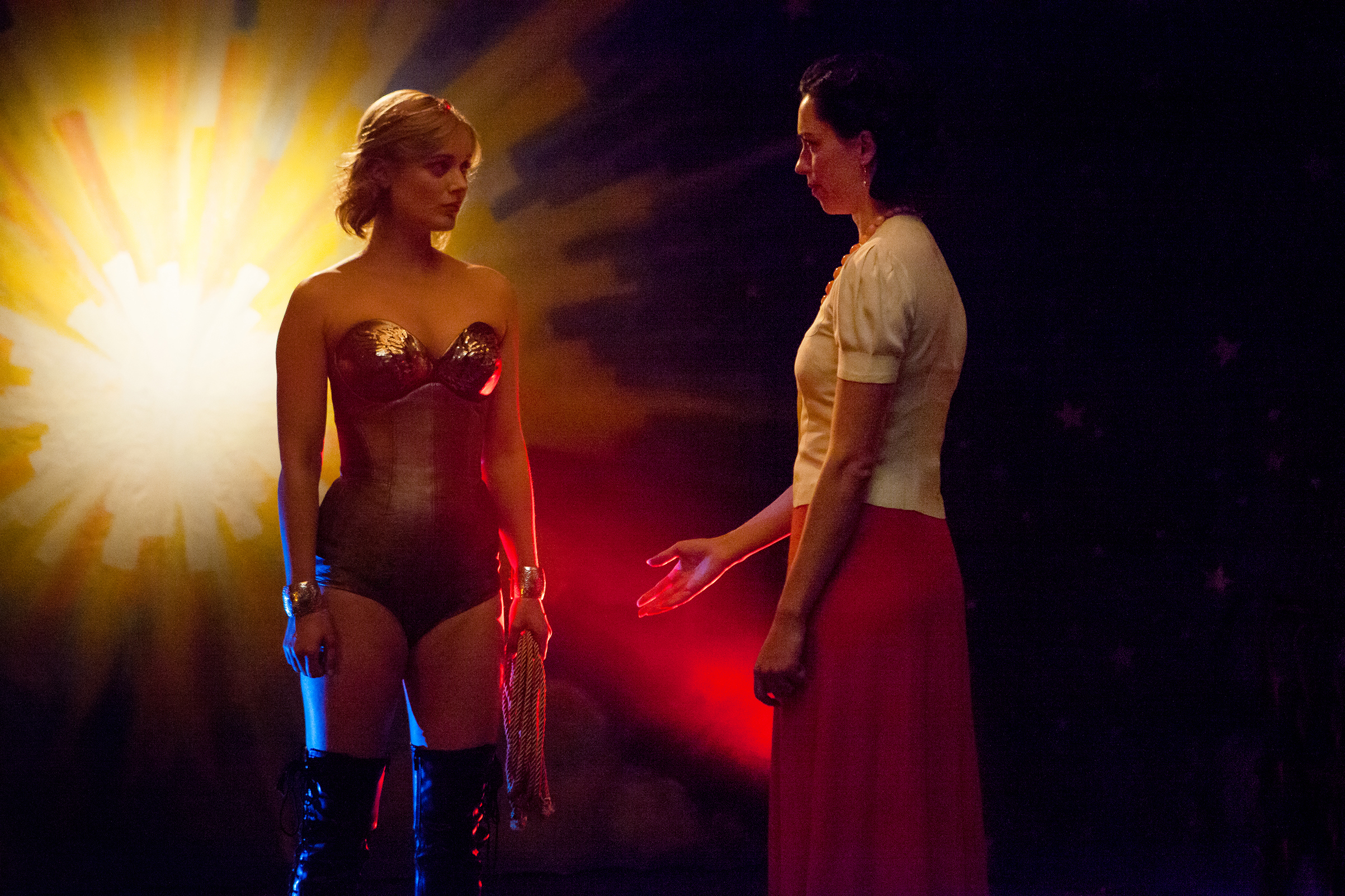 When Wonder Woman was truly a wonder: Heathcote tries on the persona for size