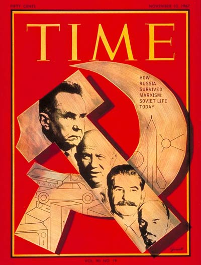 The Nov. 10, 1967, cover of TIME