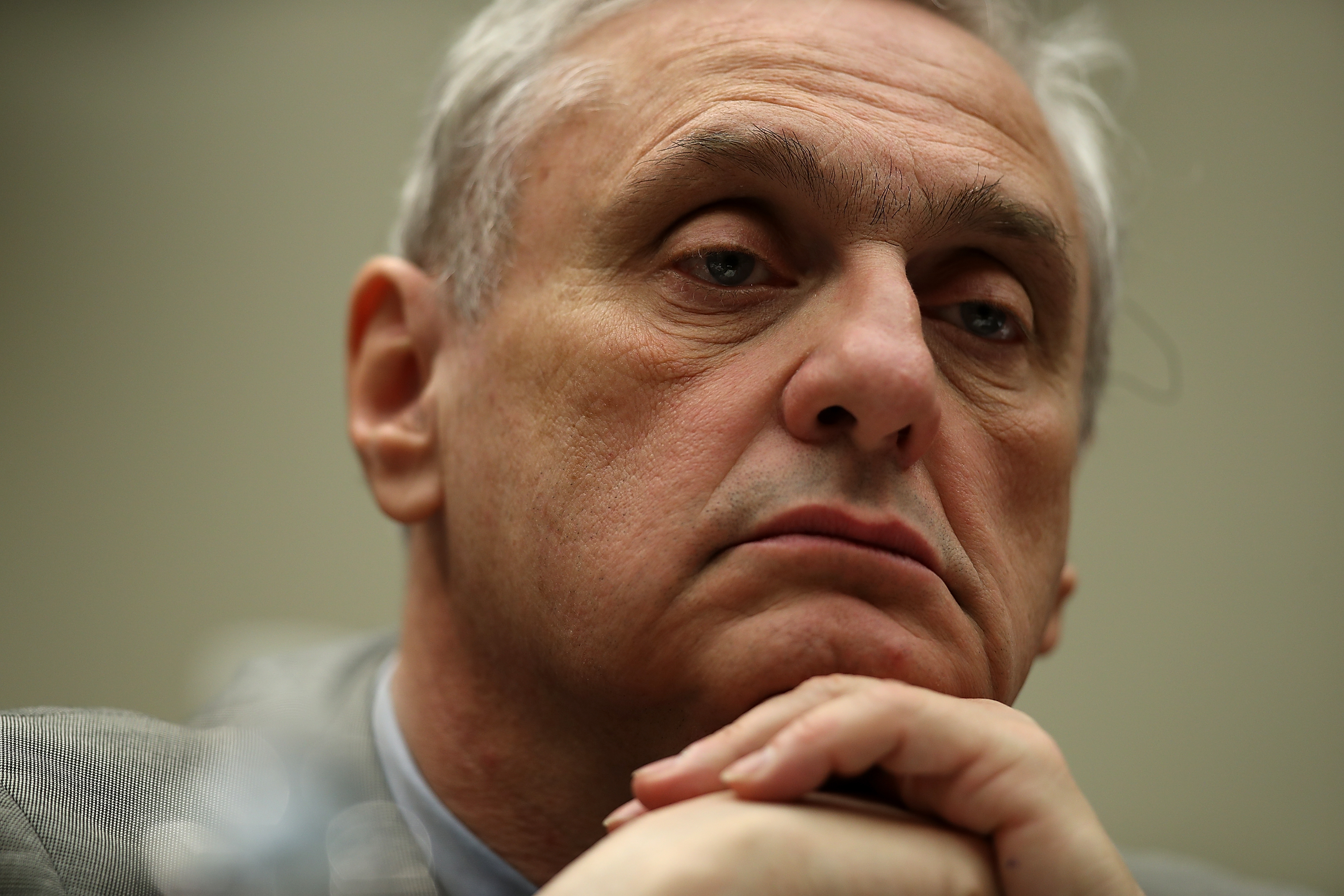 Ninth Circuit Appeals Court Judge Alex Kozinski looks on during a House Judiciary Committee hearing on March 16, 2017.