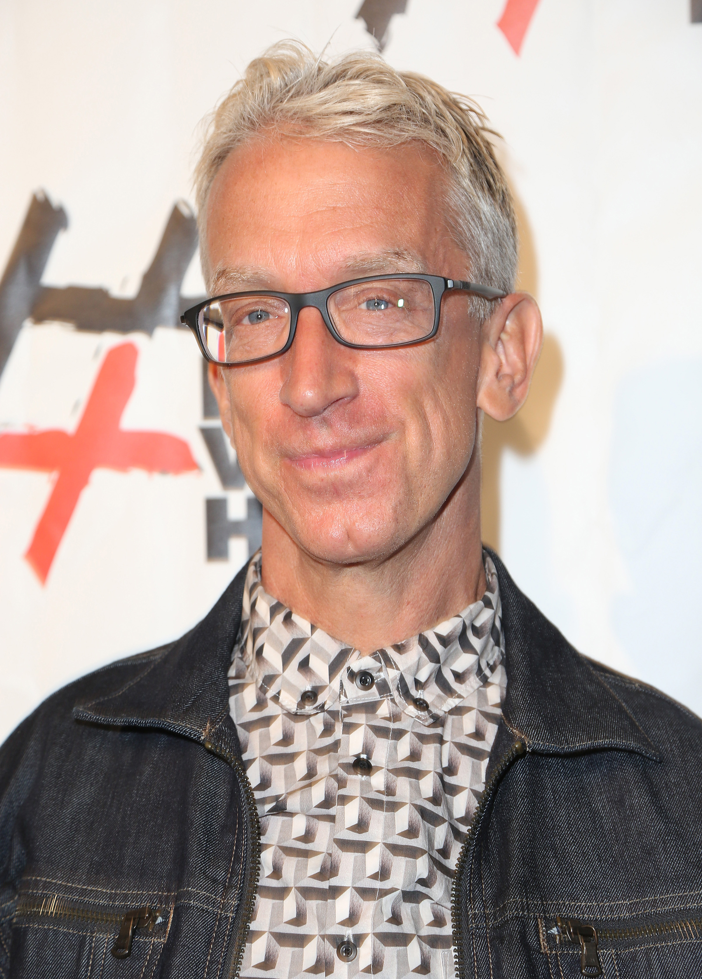 Comedian Andy Dick attends #NotWithHim Event in Los Angeles, on Aug. 19, 2016.