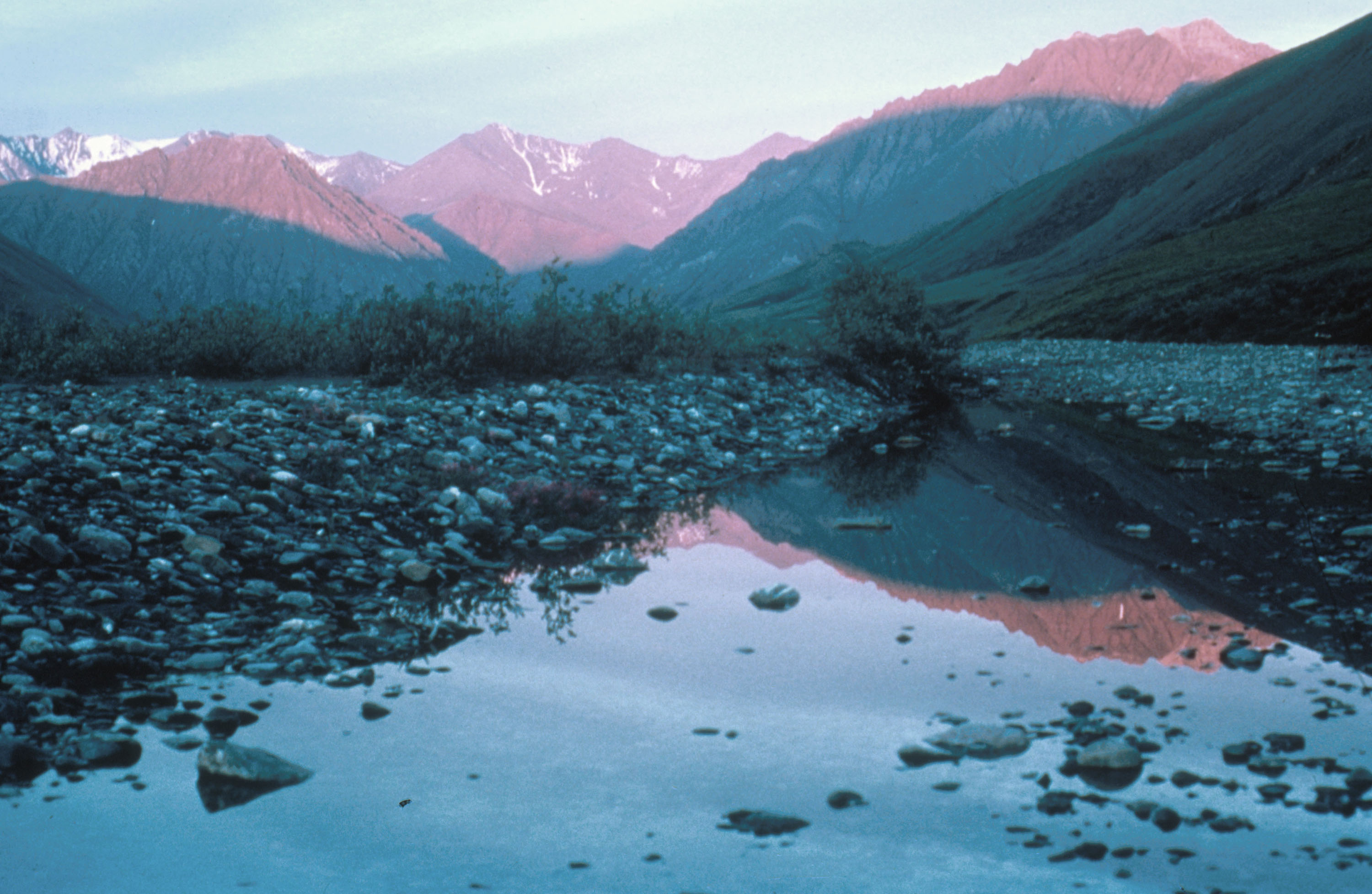 This undated photo shows the Kongakut Valley in the Arctic National Wildlife Refuge in Alaska