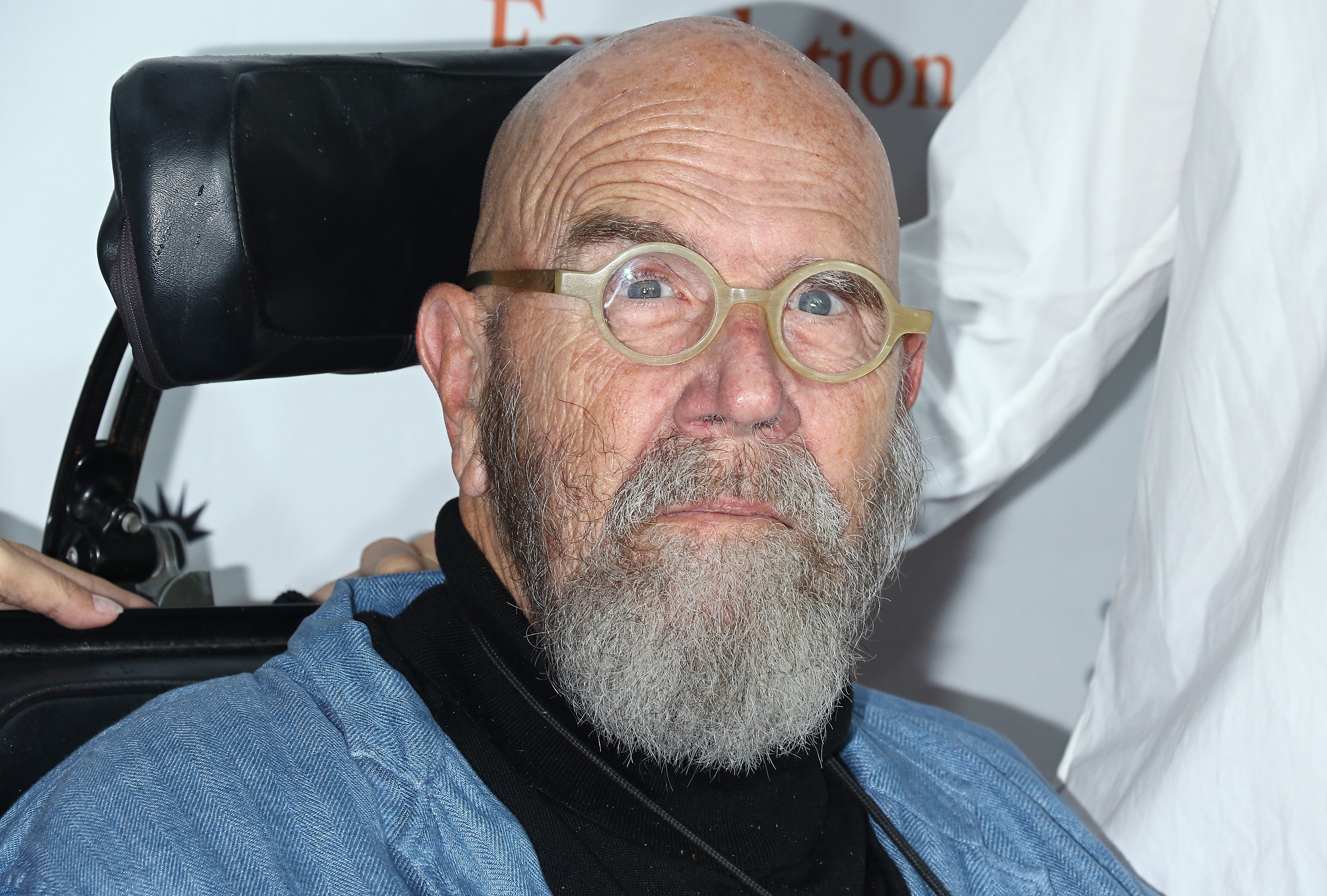Painter Chuck Close attends the 11th Annual Stand Up for Heroes at The Theater at Madison Square Garden on November 7, 2017 in New York City.