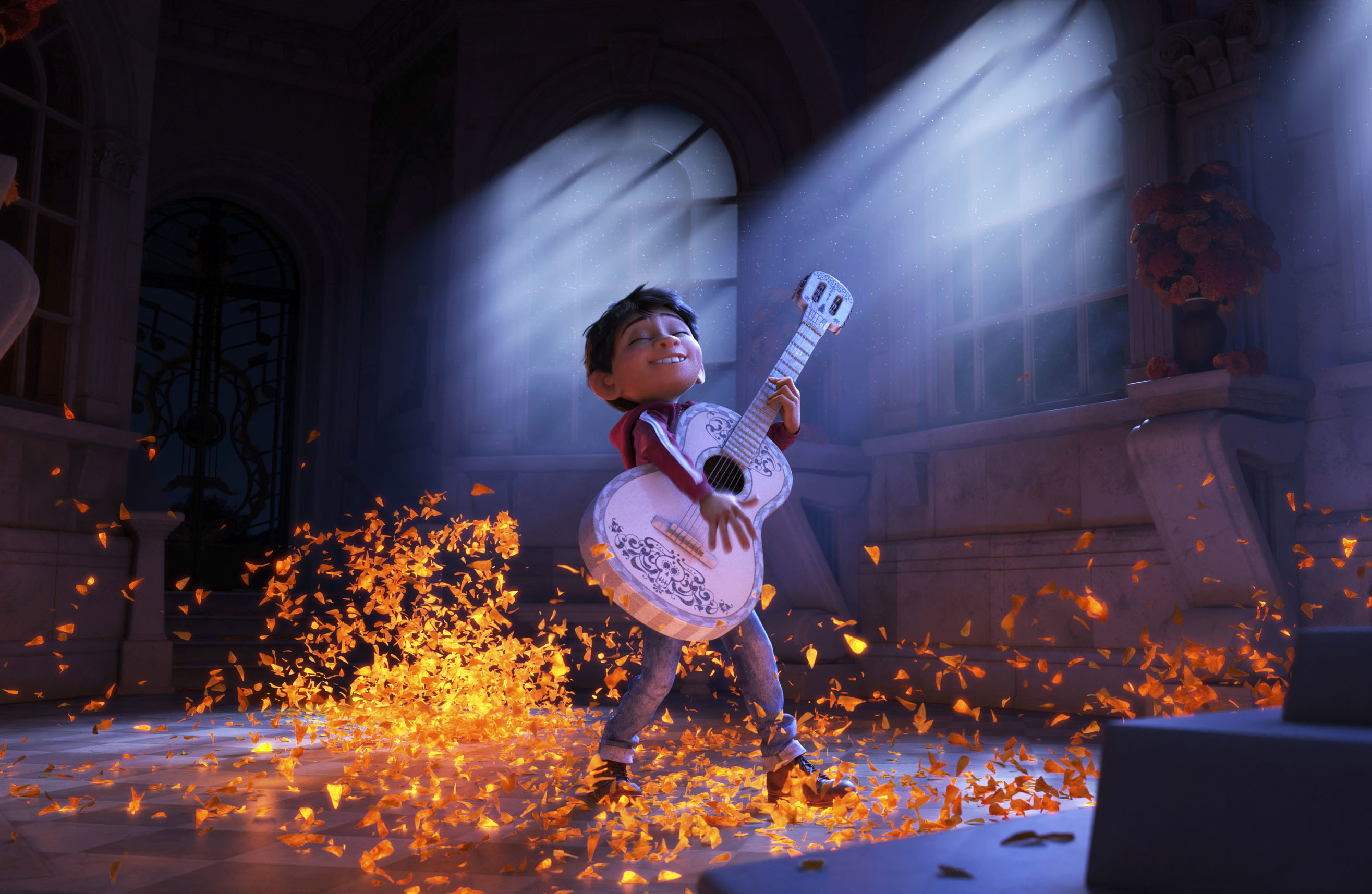 Miguel, voiced by Anthony Gonzalez, in  Coco