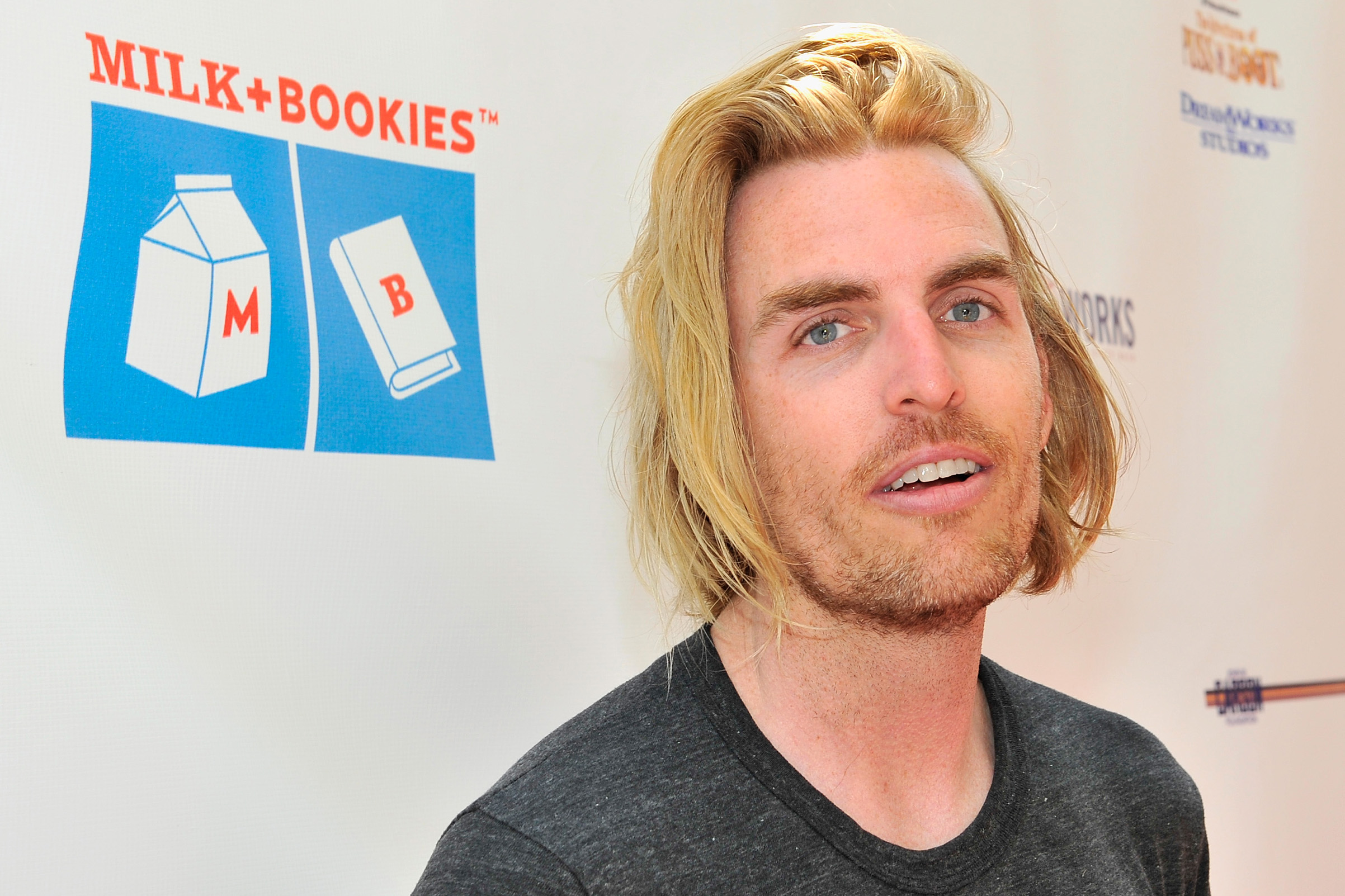 Author Dallas Clayton attends Milk + Bookies 6th Annual Story Time Celebration in Los Angeles on April 19, 2015.