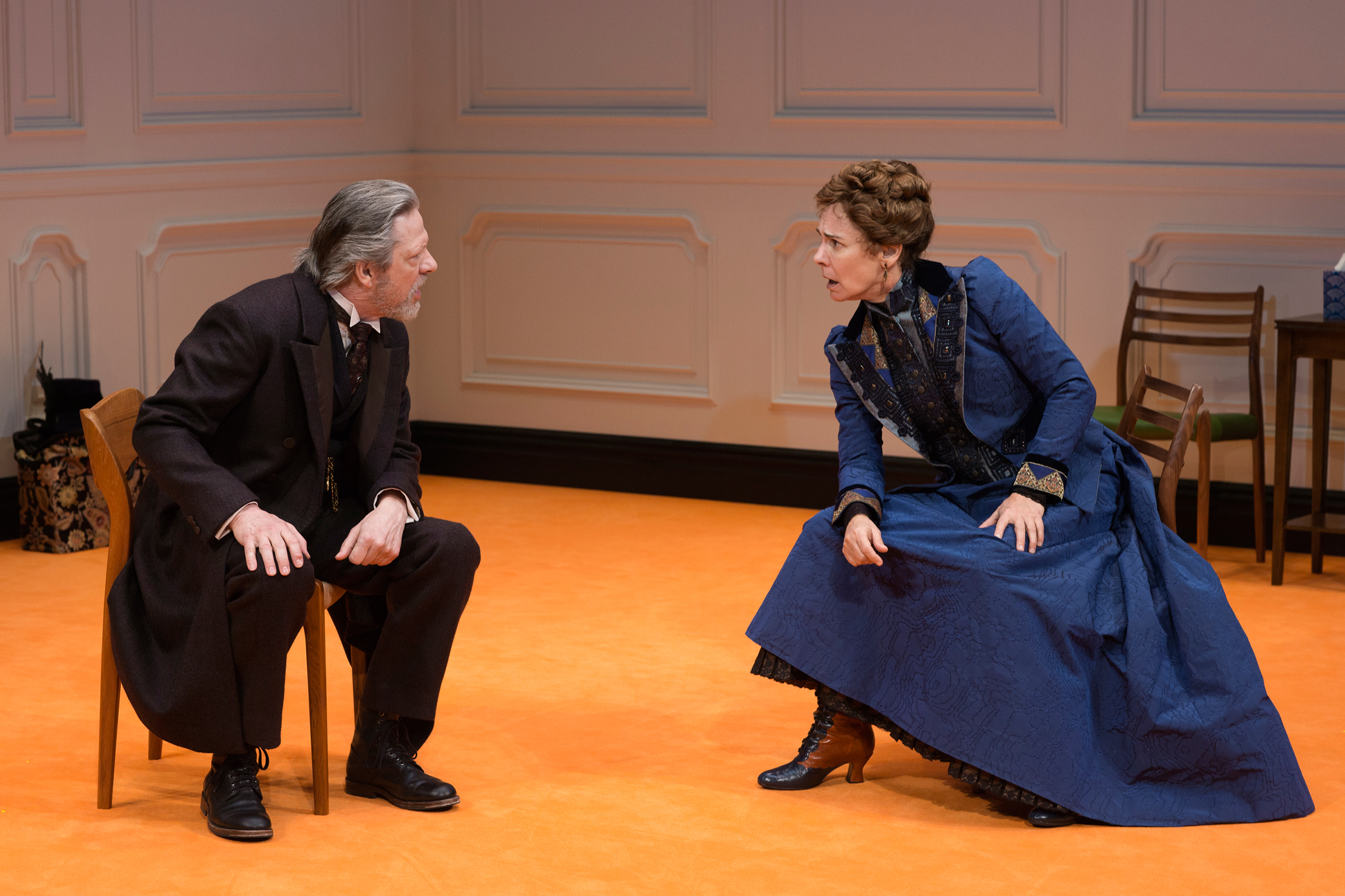 Chris Cooper and Laurie Metcalf in A Doll's House, Part 2.