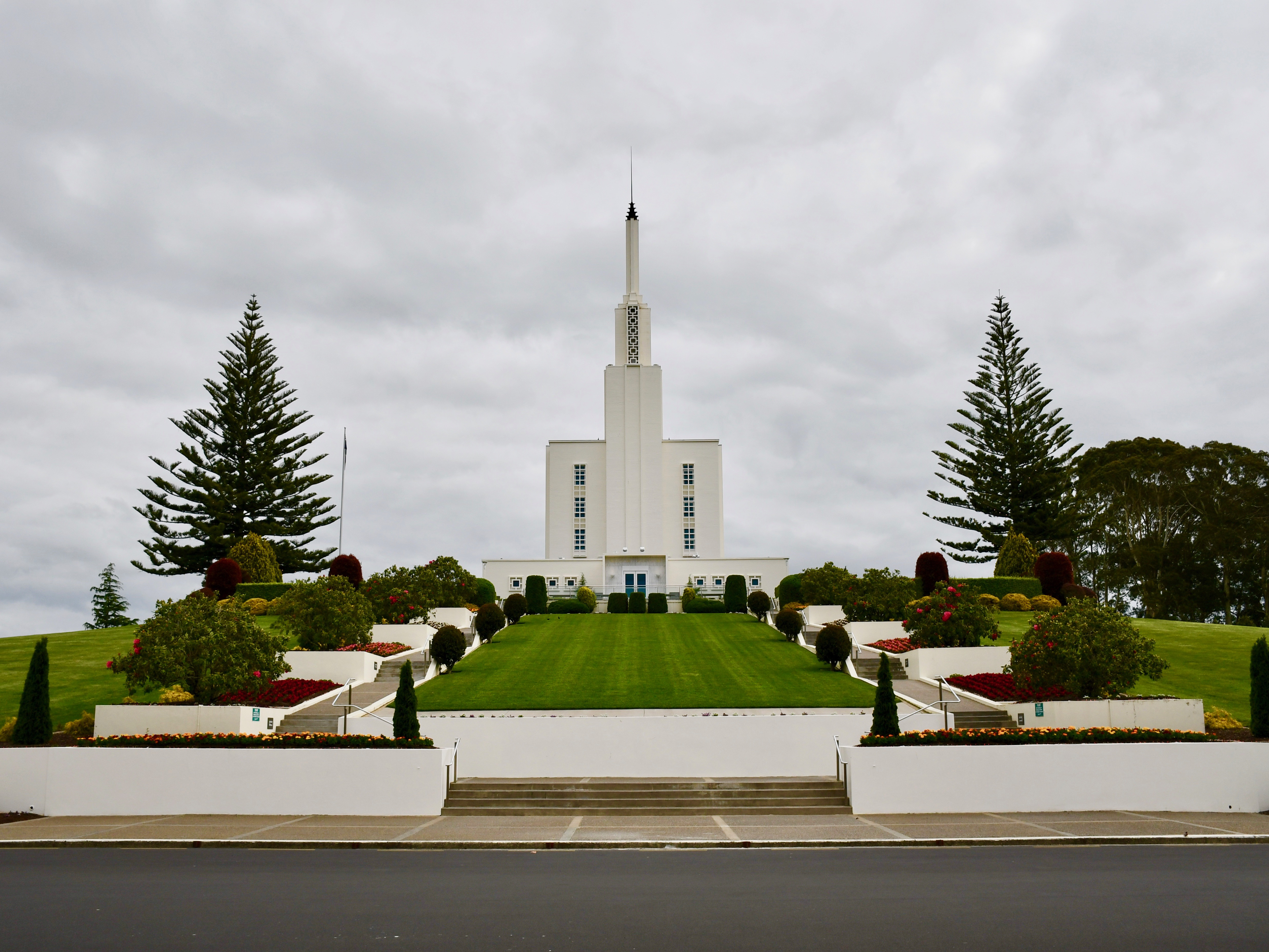 The Hamilton New Zealand LDS Temple on Nov. 2.