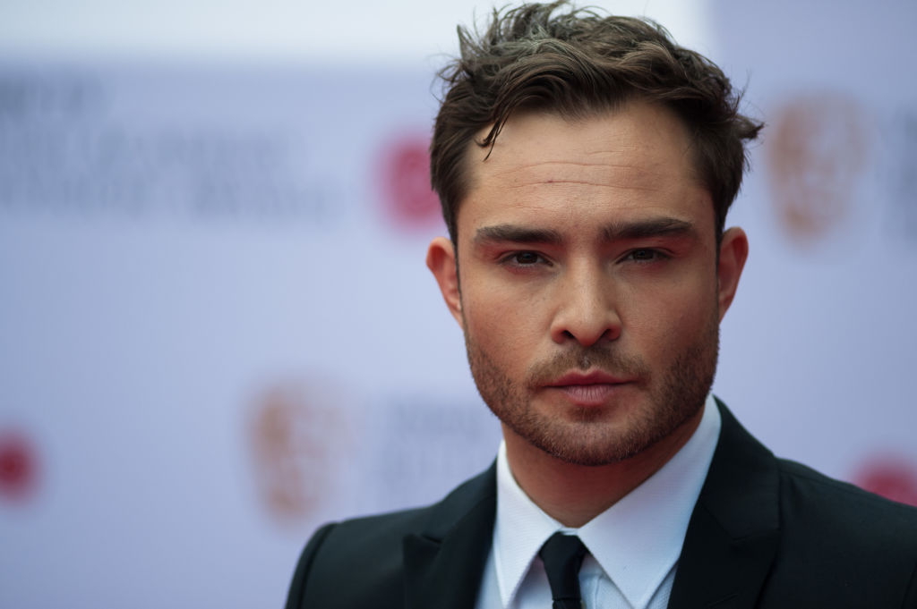 Ed Westwick attends the Virgin TV British Academy Television Awards ceremony at the Royal Festival Hall in London, on May 14, 2017.
