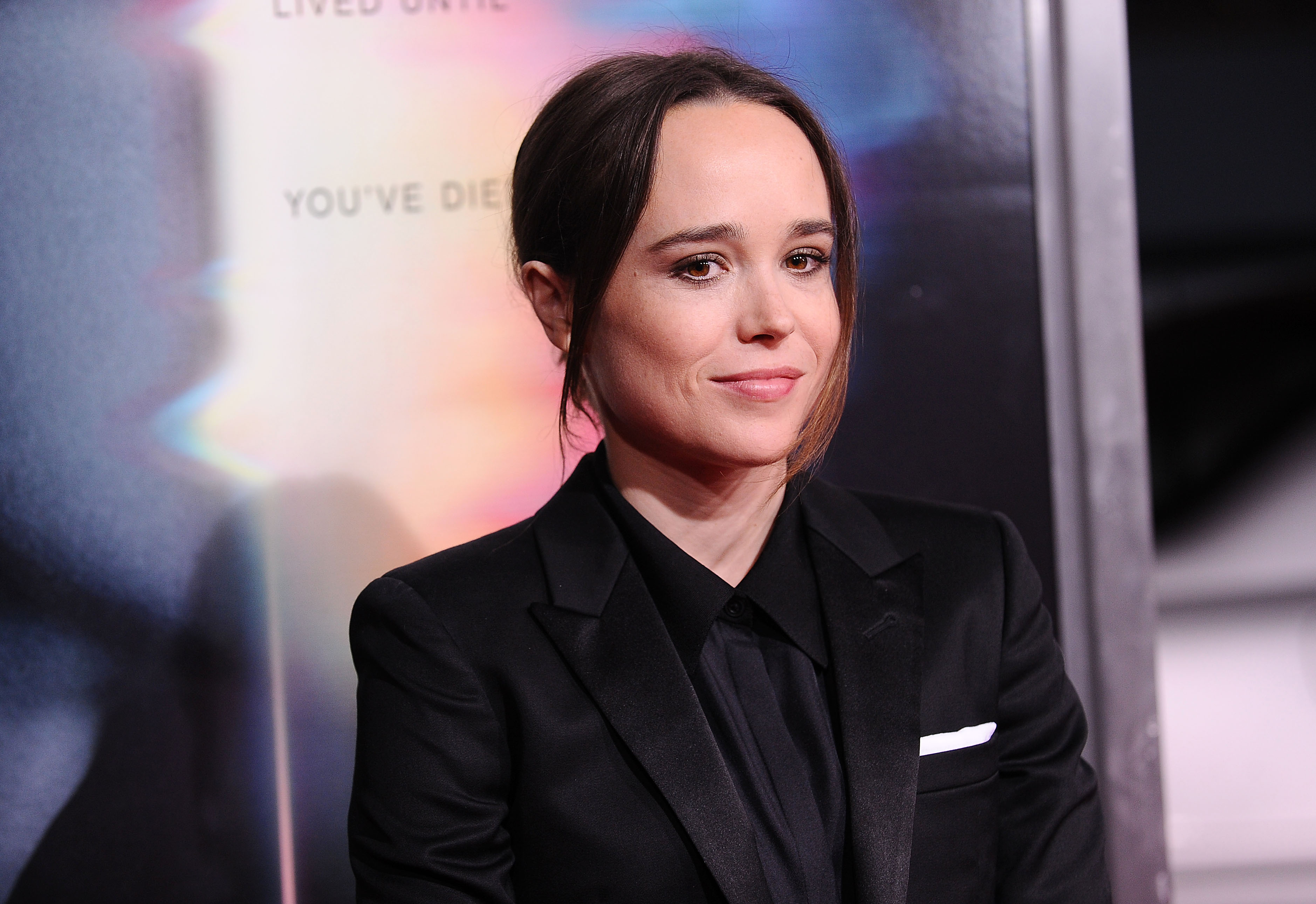 LOS ANGELES, CA - SEPTEMBER 27: Actress Ellen Page attends the premiere of  Flatliners  at The Theatre at Ace Hotel on September 27, 2017 in Los Angeles, California. (Photo by Jason LaVeris/FilmMagic)