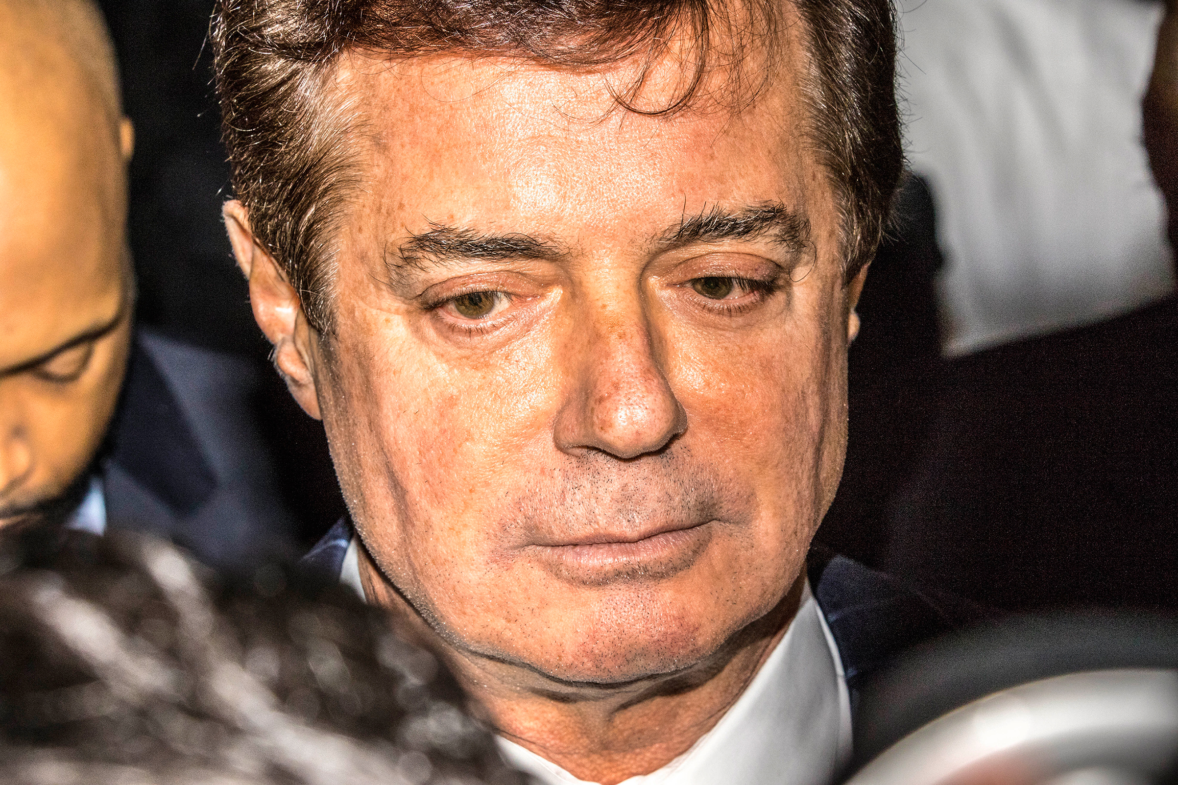 Manafort, the President's former campaign chairman, was charged with tax fraud and money laundering