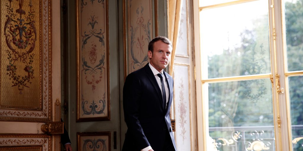 Emmanuel Macron On Trump S Twitter Terrorism And Europe Time