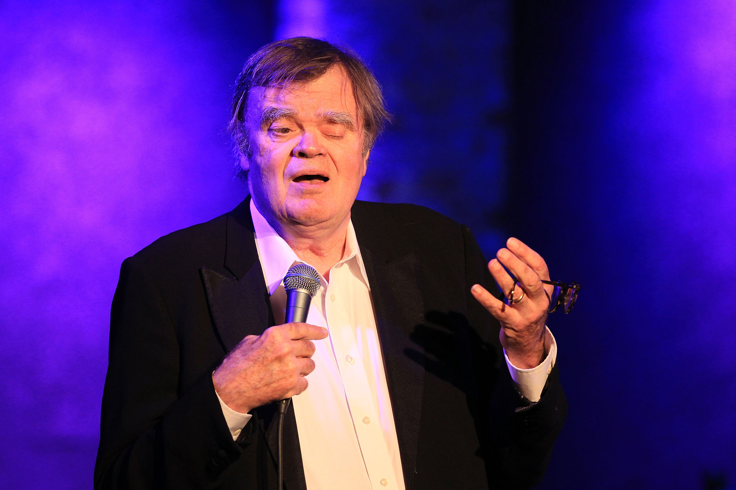 Garrison Keillor performs at City Winery on October 4, 2017 in New York City.