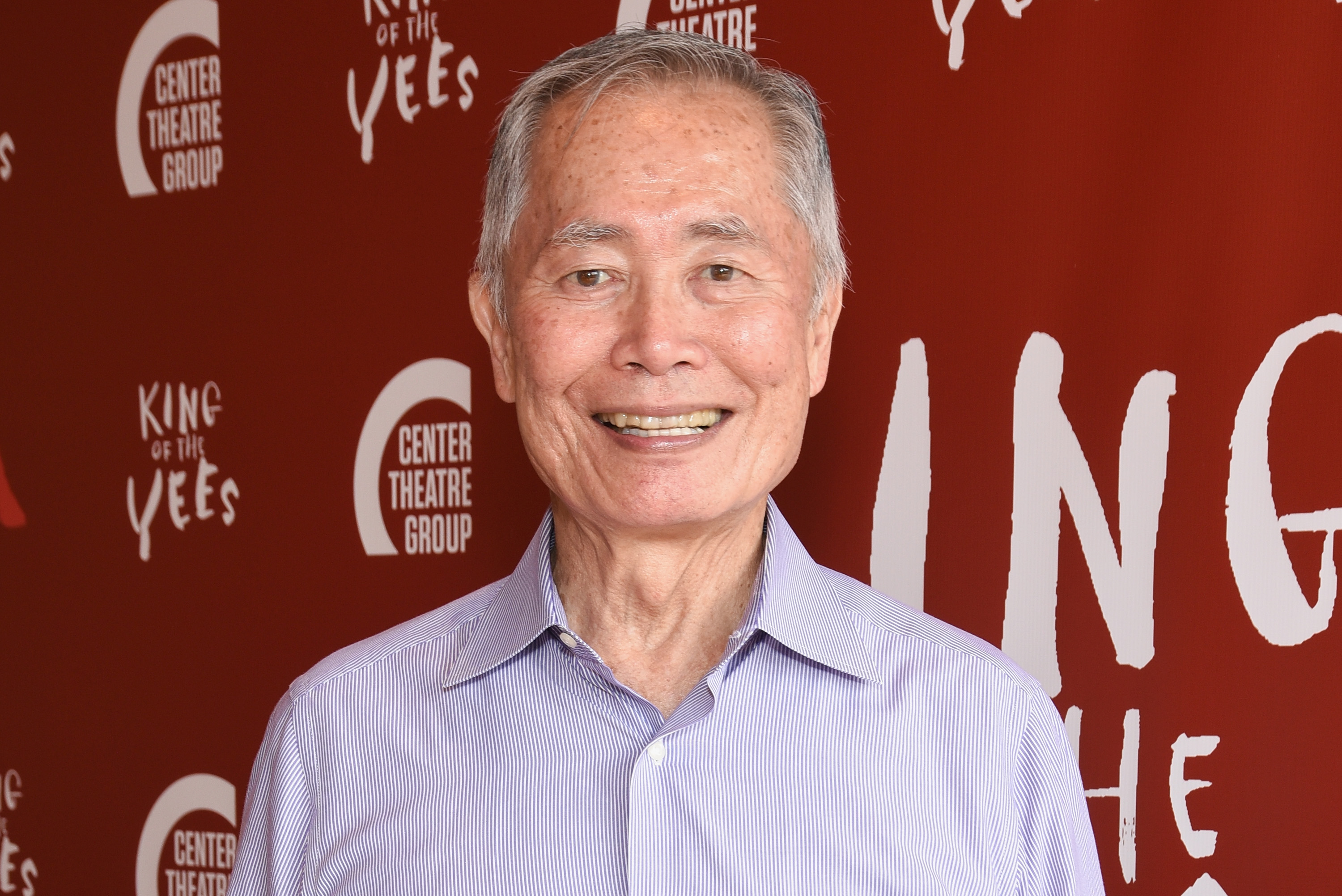 George Takei attends opening night of 'King Of The Yees' at Kirk Douglas Theatre in Culver City, Calif., on July 16, 2017.