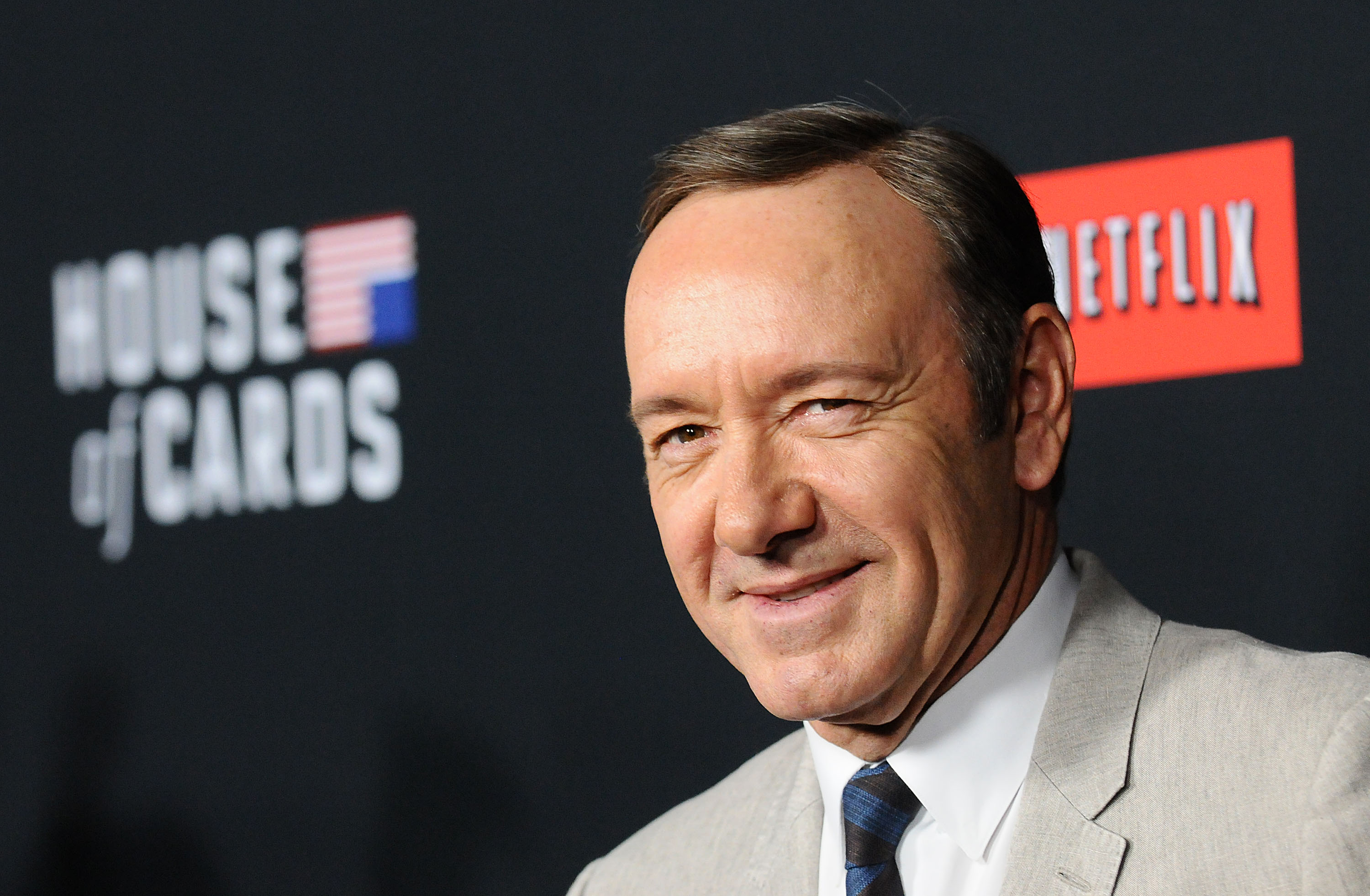 Actor Kevin Spacey attends a screening of  House Of Cards  in Los Angeles, Calif. on Feb. 13, 2014.