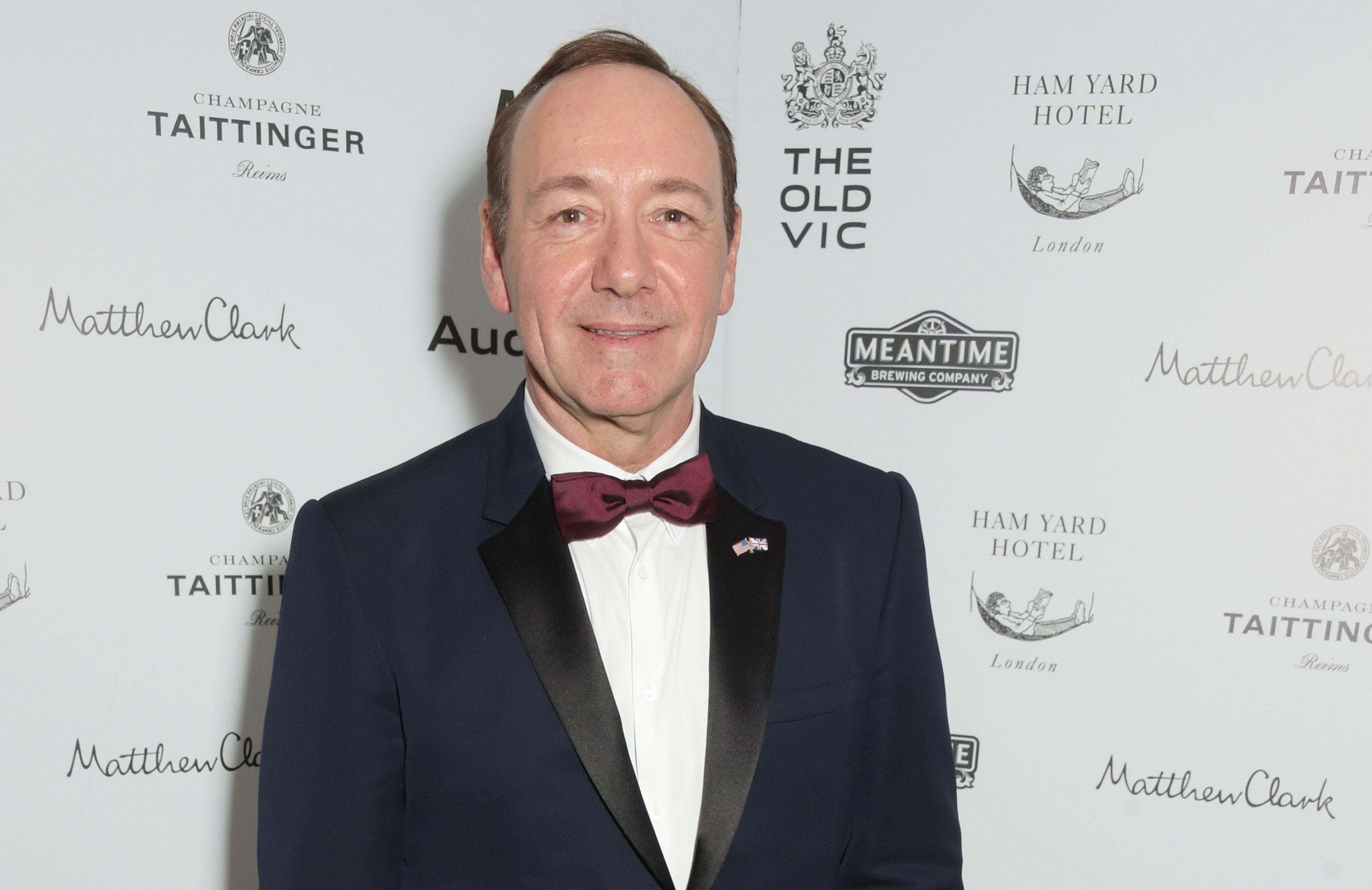 Former artistic director of The Old Vic Kevin Spacey at the After Party of The Old Vic's A Gala Celebration in Honour of Kevin Spacey on April 19, 2015 in London, England