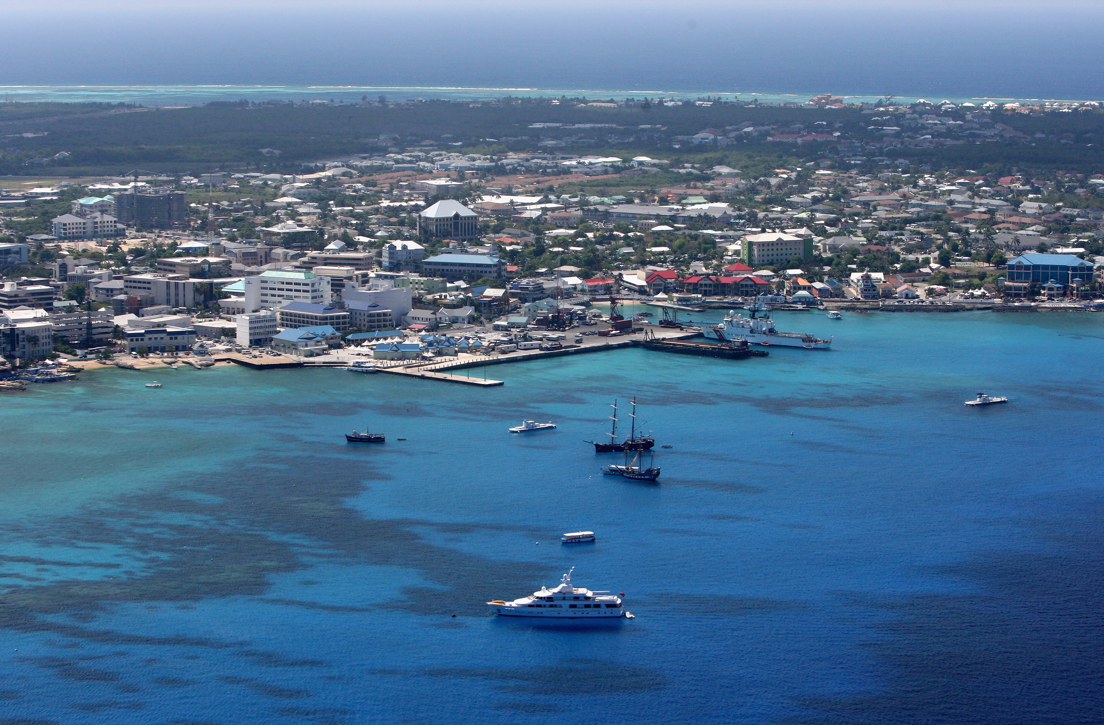 George Town pictured  on 24 April, 2008 in Grand Cayman, Cayman Islands.