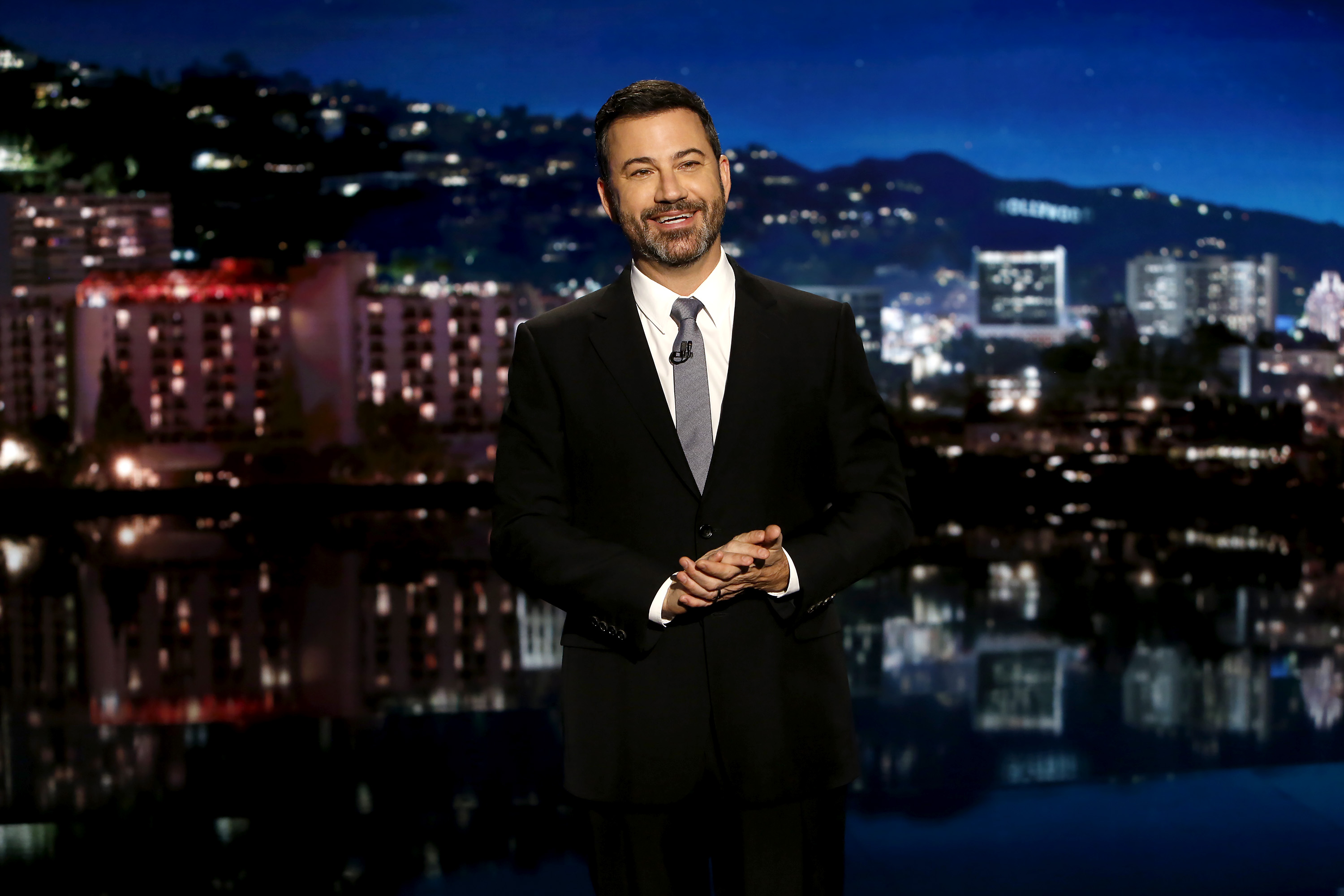 Still from Jimmy Kimmel Live, which airs every weeknight at 11:35 p.m. EST.