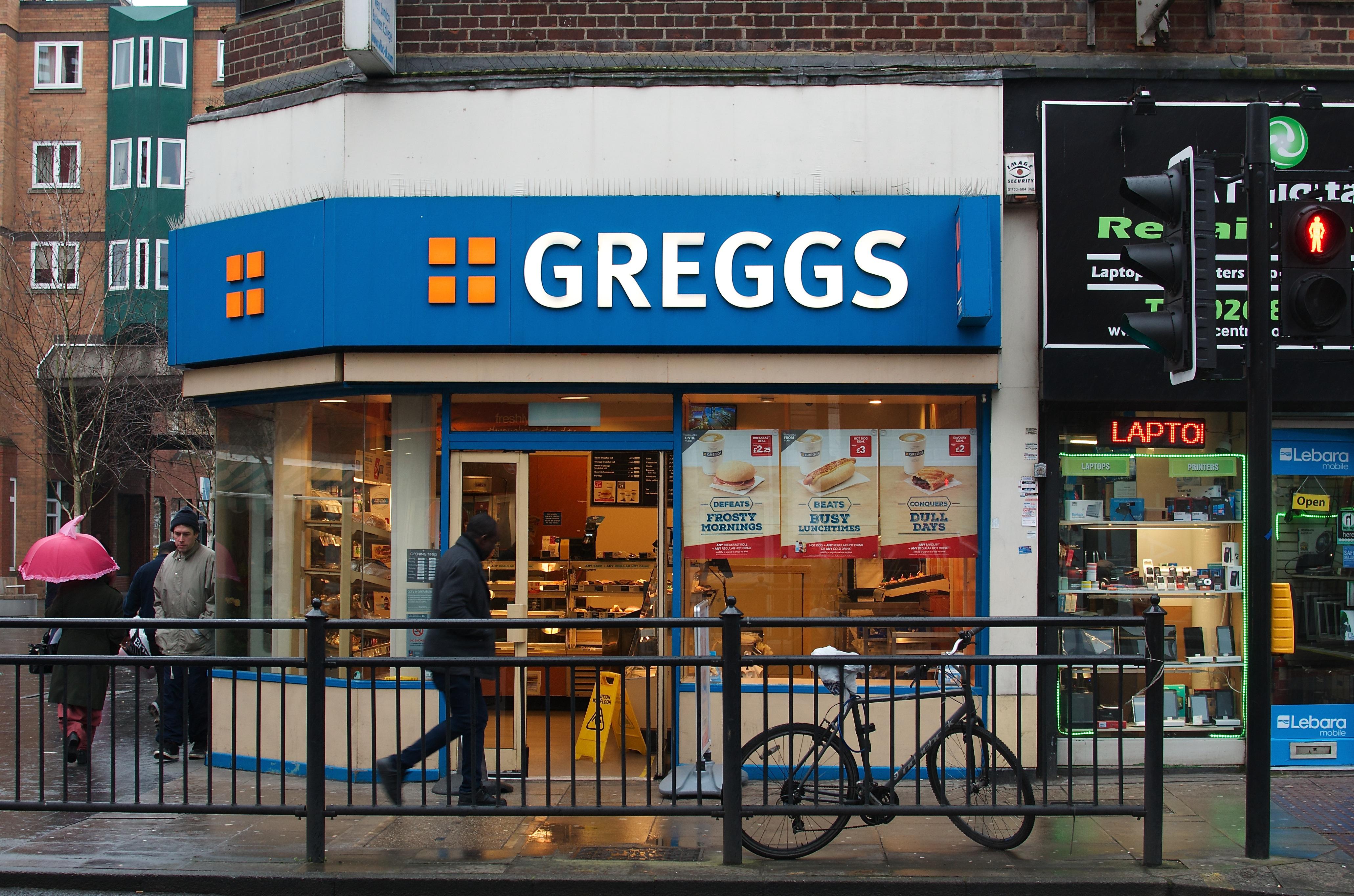 Greggs, West Ealing, London
