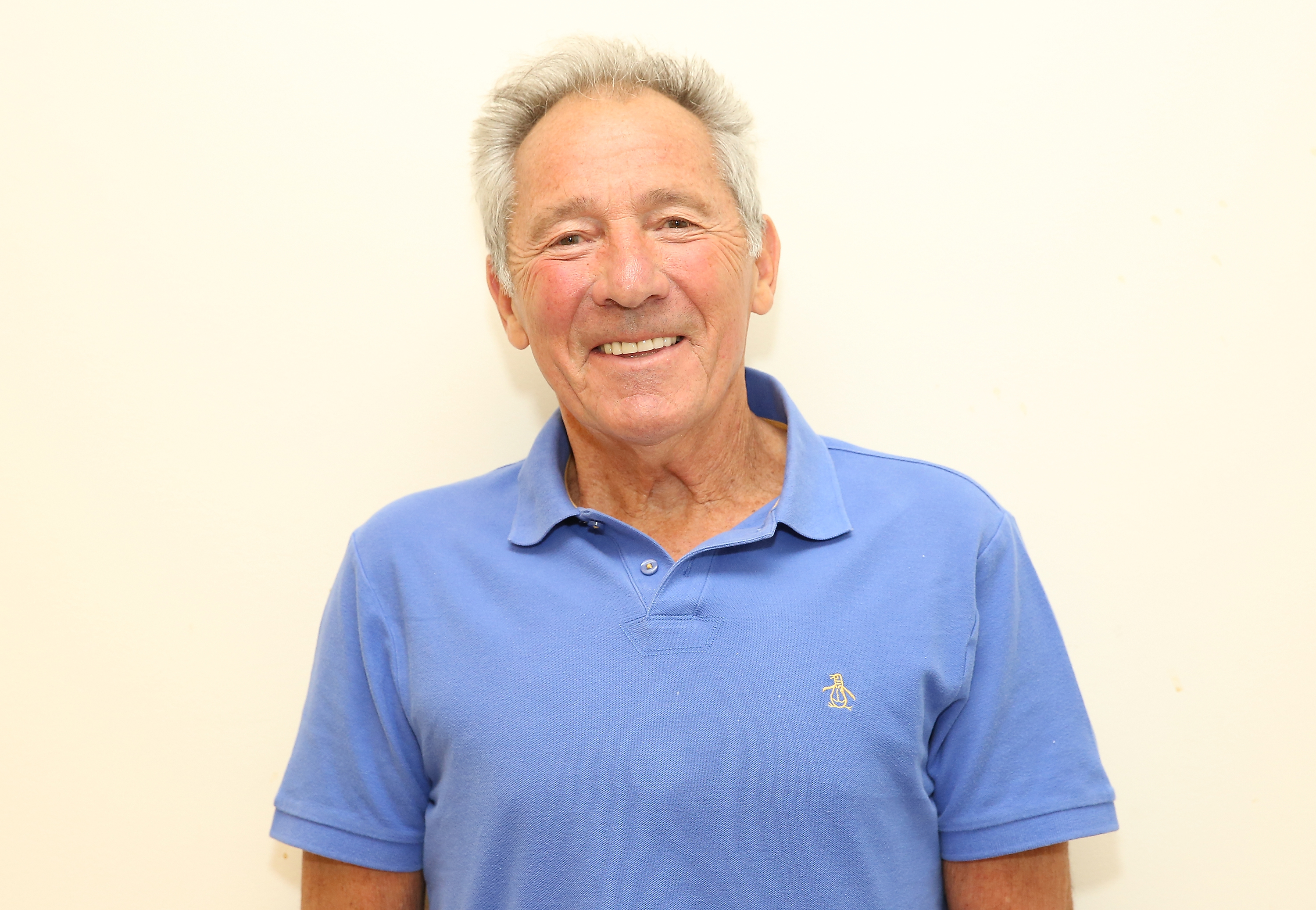 Playwright Israel Horovitz attends the  Out Of The Mouths Of Babes  Off-Broadway Photo Opportunity at MTC Rehearsal Studios on May 12, 2016 in New York City.