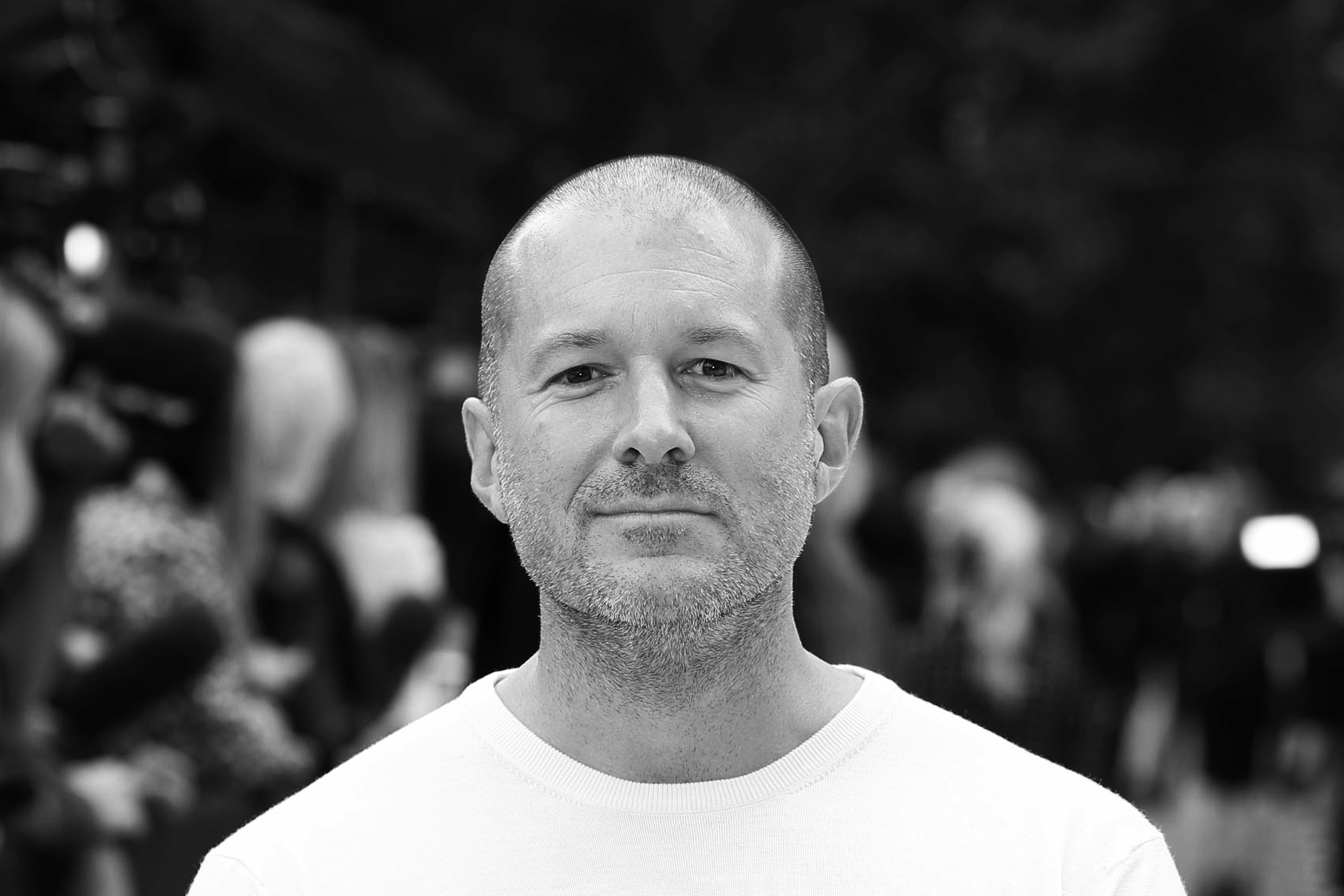 Jonathan Ive attends the front row for the Burberry Prorsum show on day 4 of London Fashion Week Spring/Summer 2013 on September 17, 2012 in London.